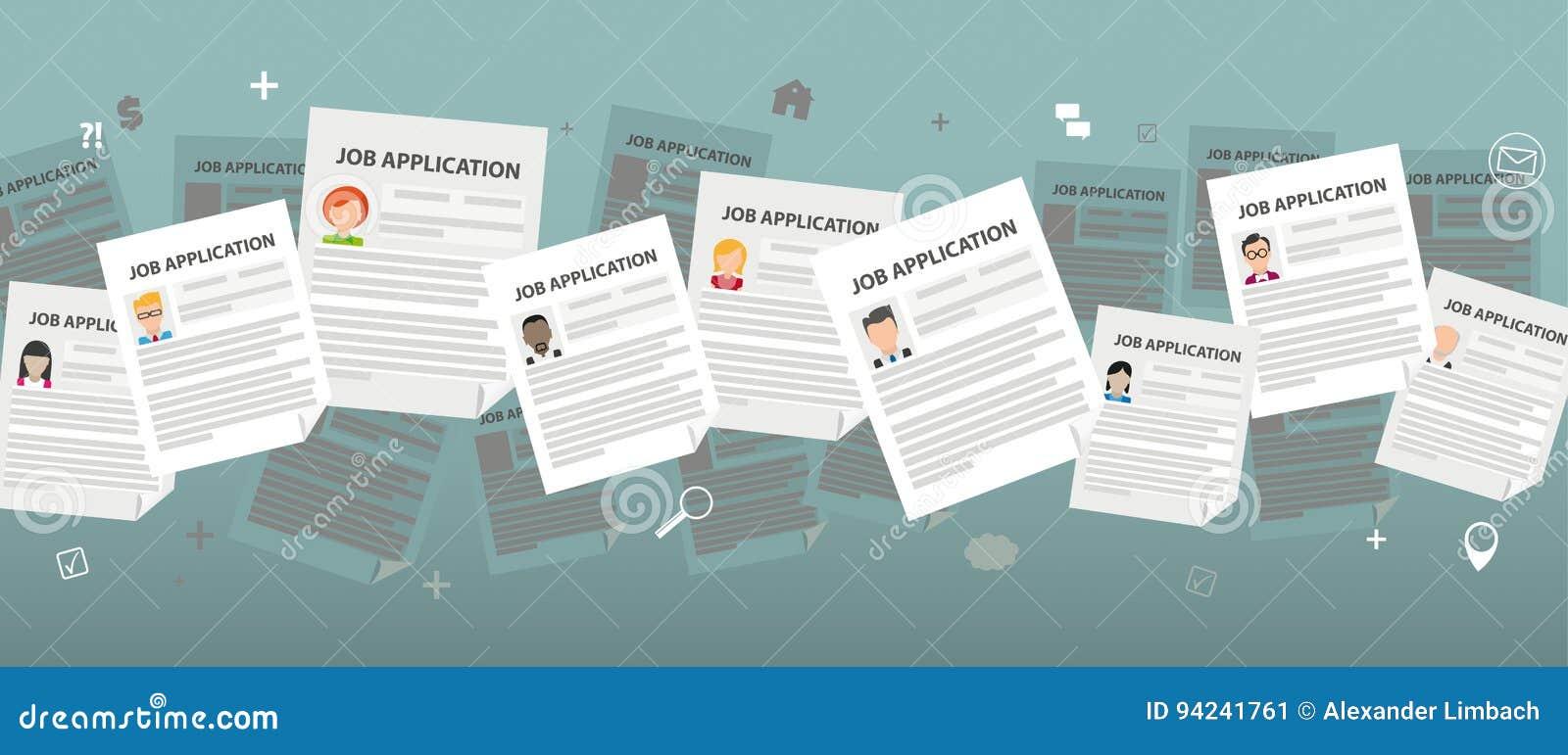 Människor Job Applications