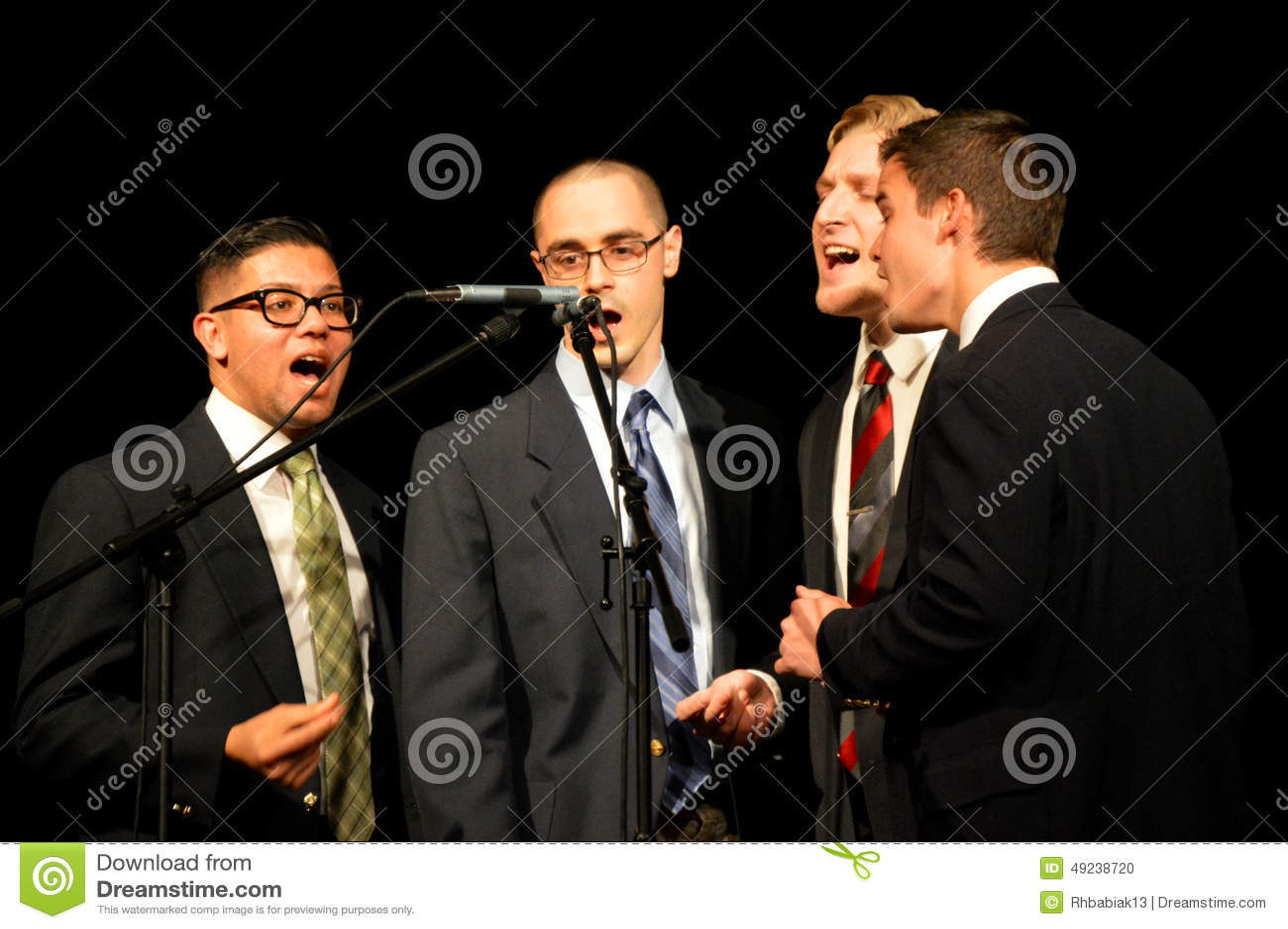 Mäns sjunga kvartett