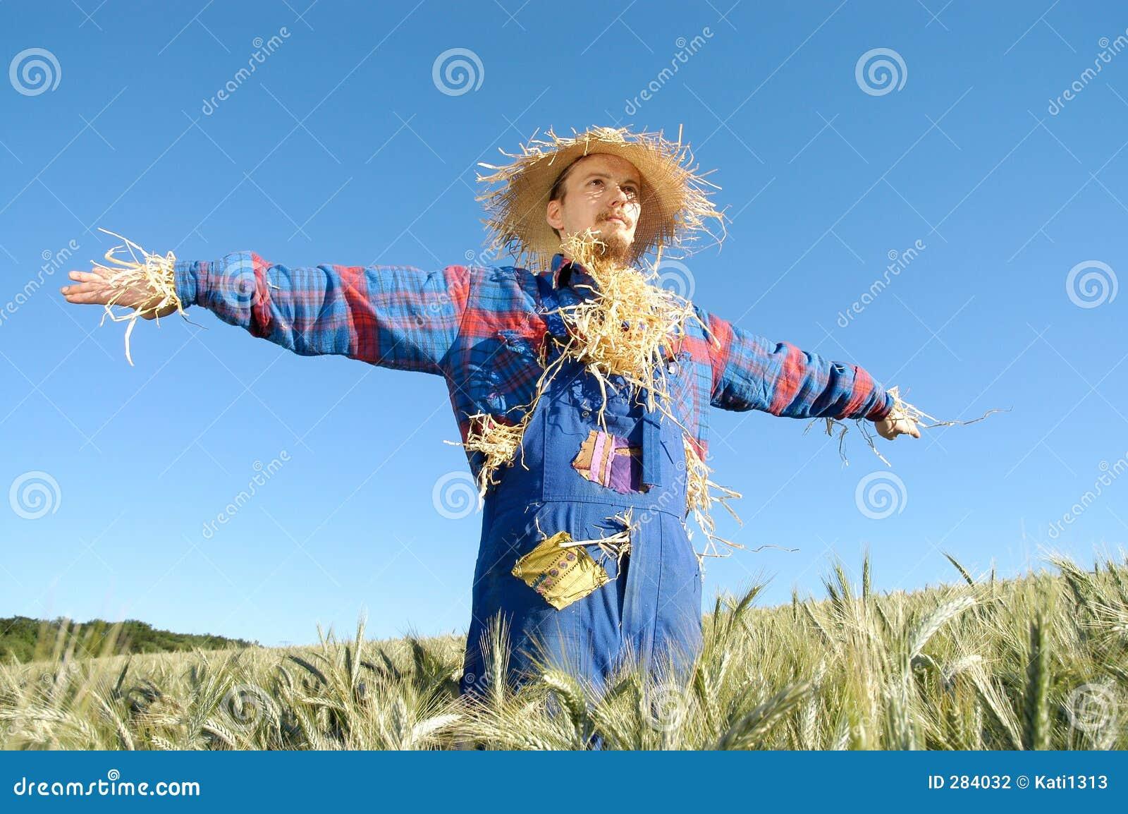 Mänsklig scarecrow