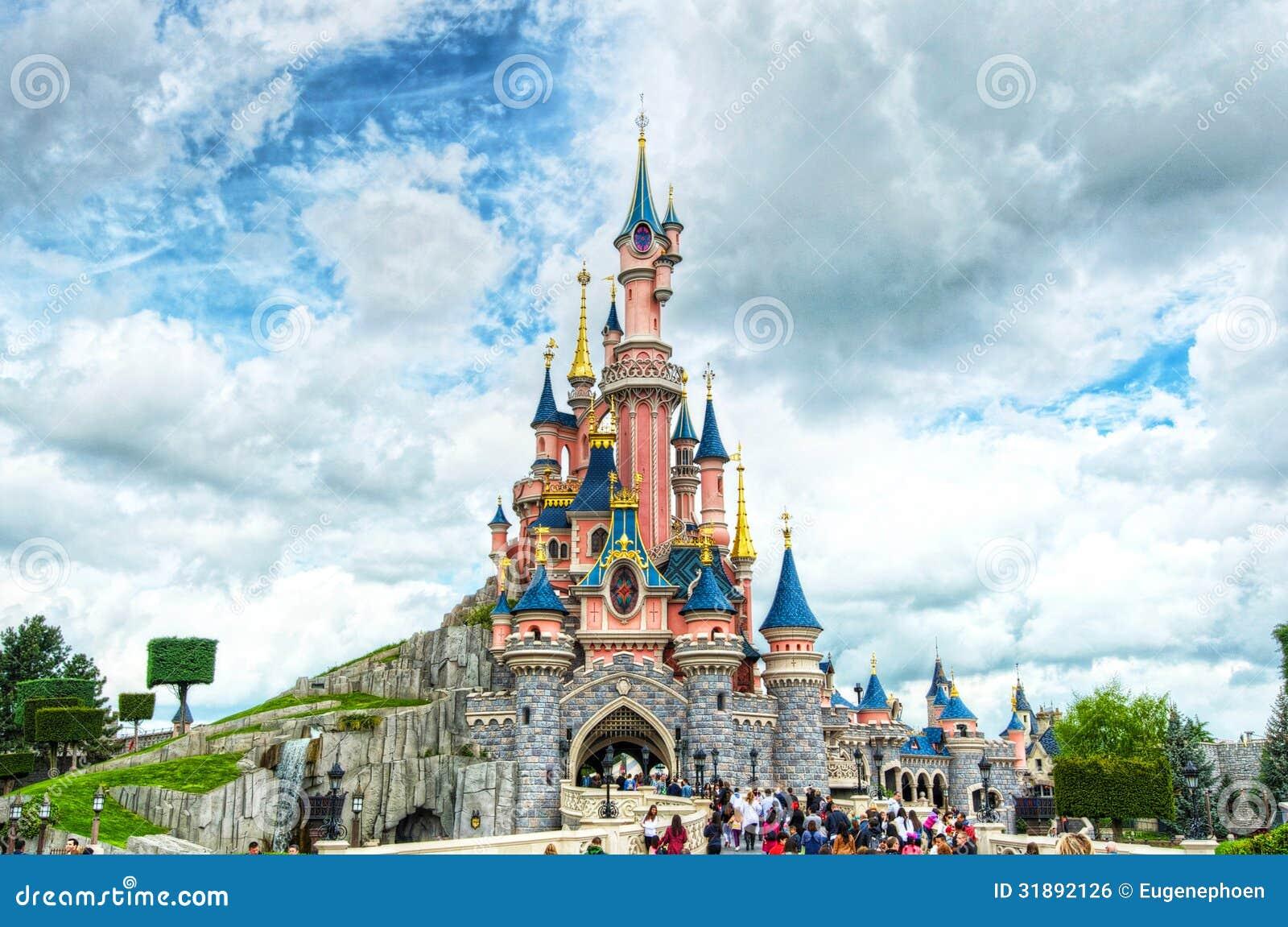 Märchen-Schloss in Frankreich