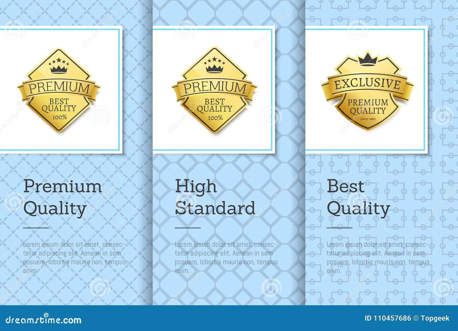 Märker bästa högvärdig kvalitet för höga klassen affischer