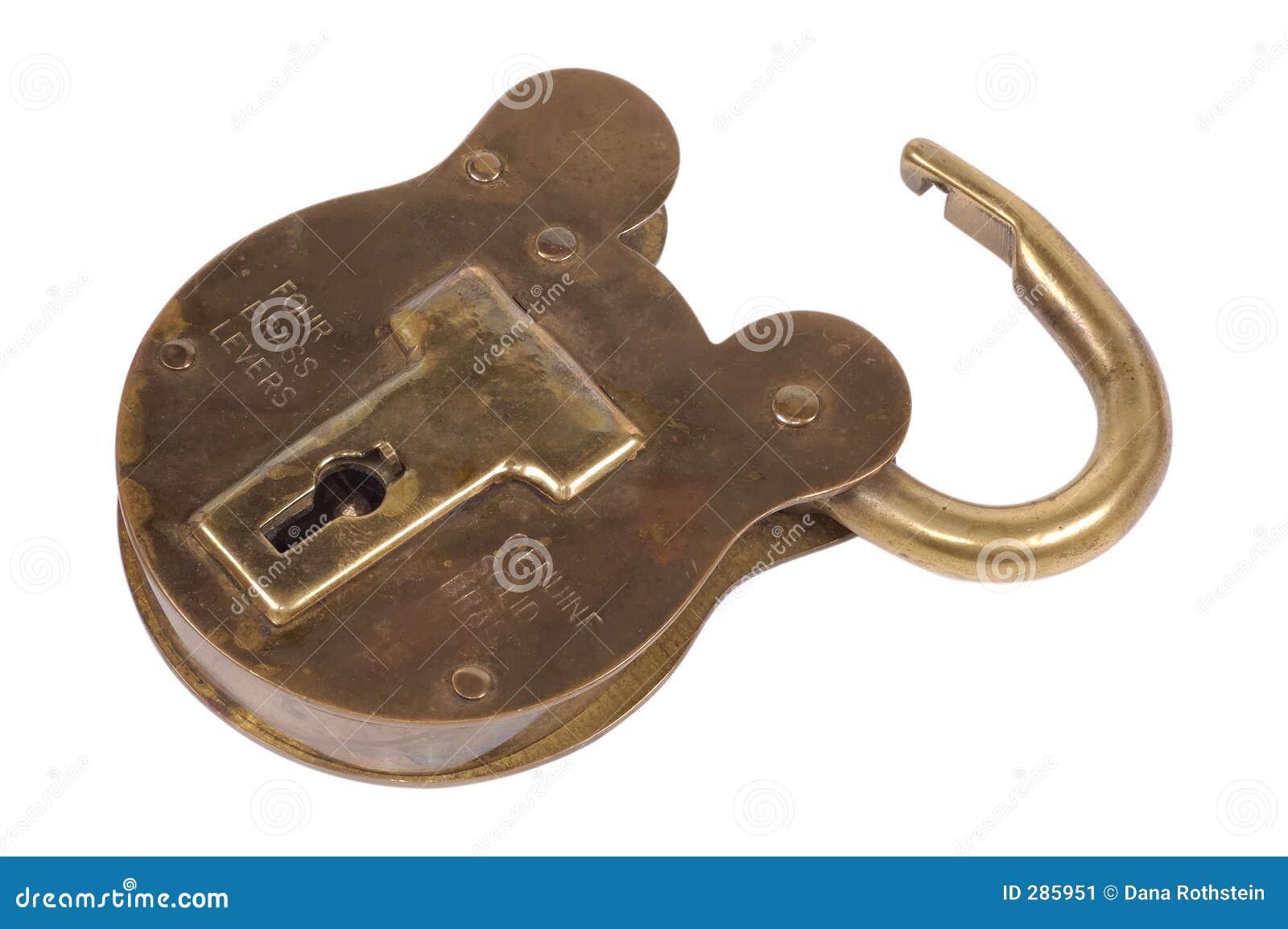 Mässingspadlock