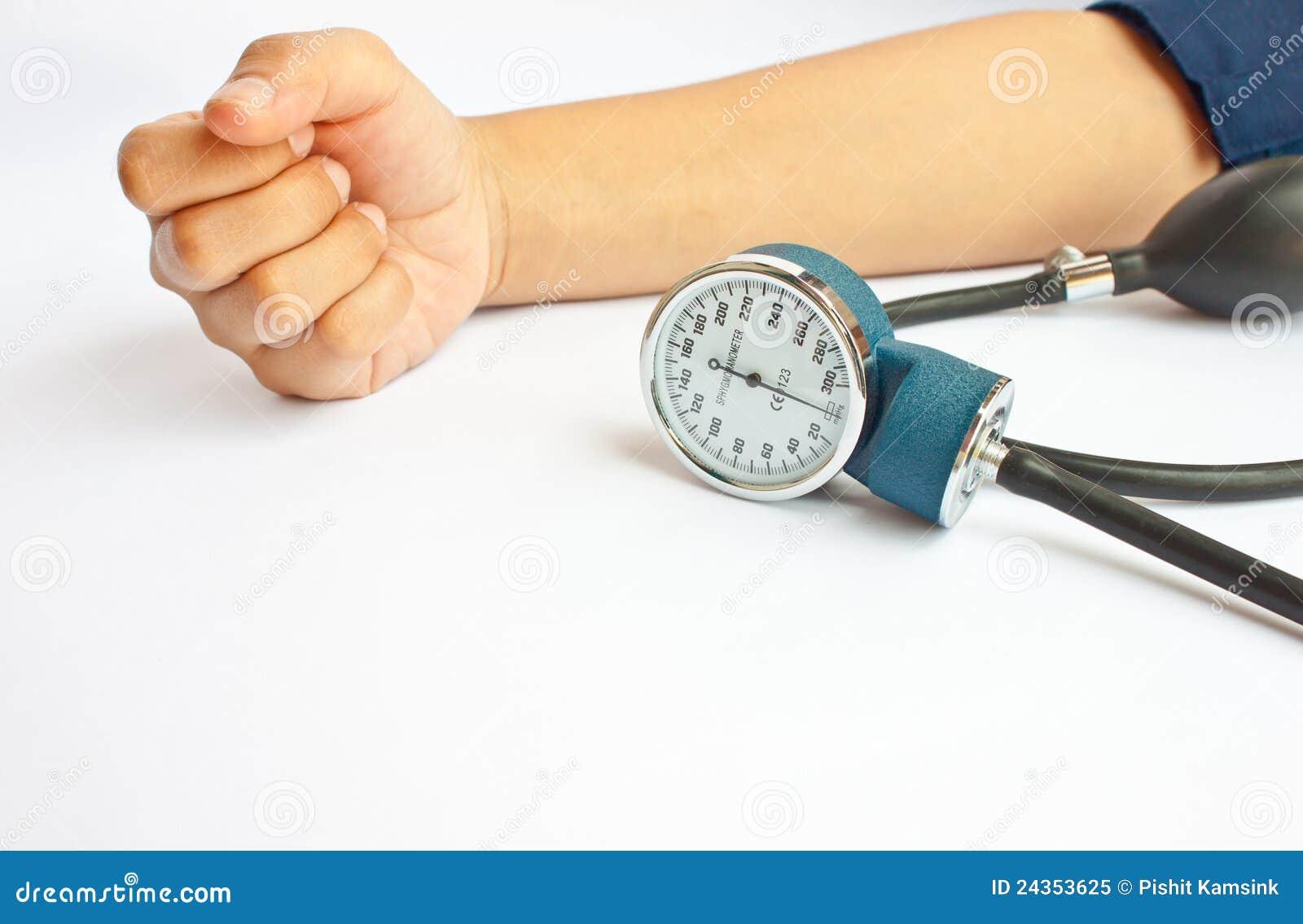 Mätande tryck för blod