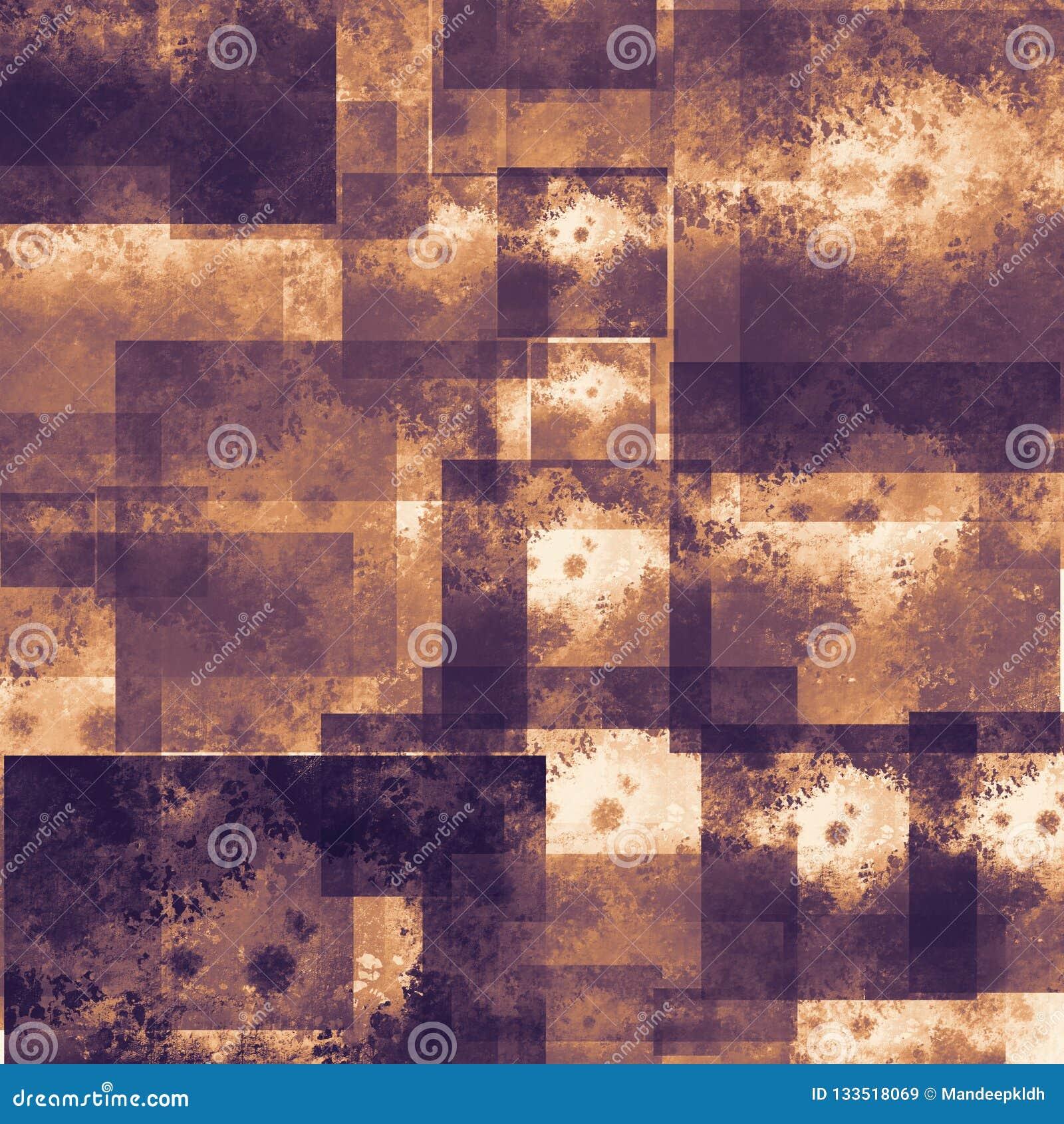 Målad abstrakt bakgrund Färgrika vätskeeffekter Grungelappar spridda på bakgrund Bra för: Väggkonst, kort, dekor