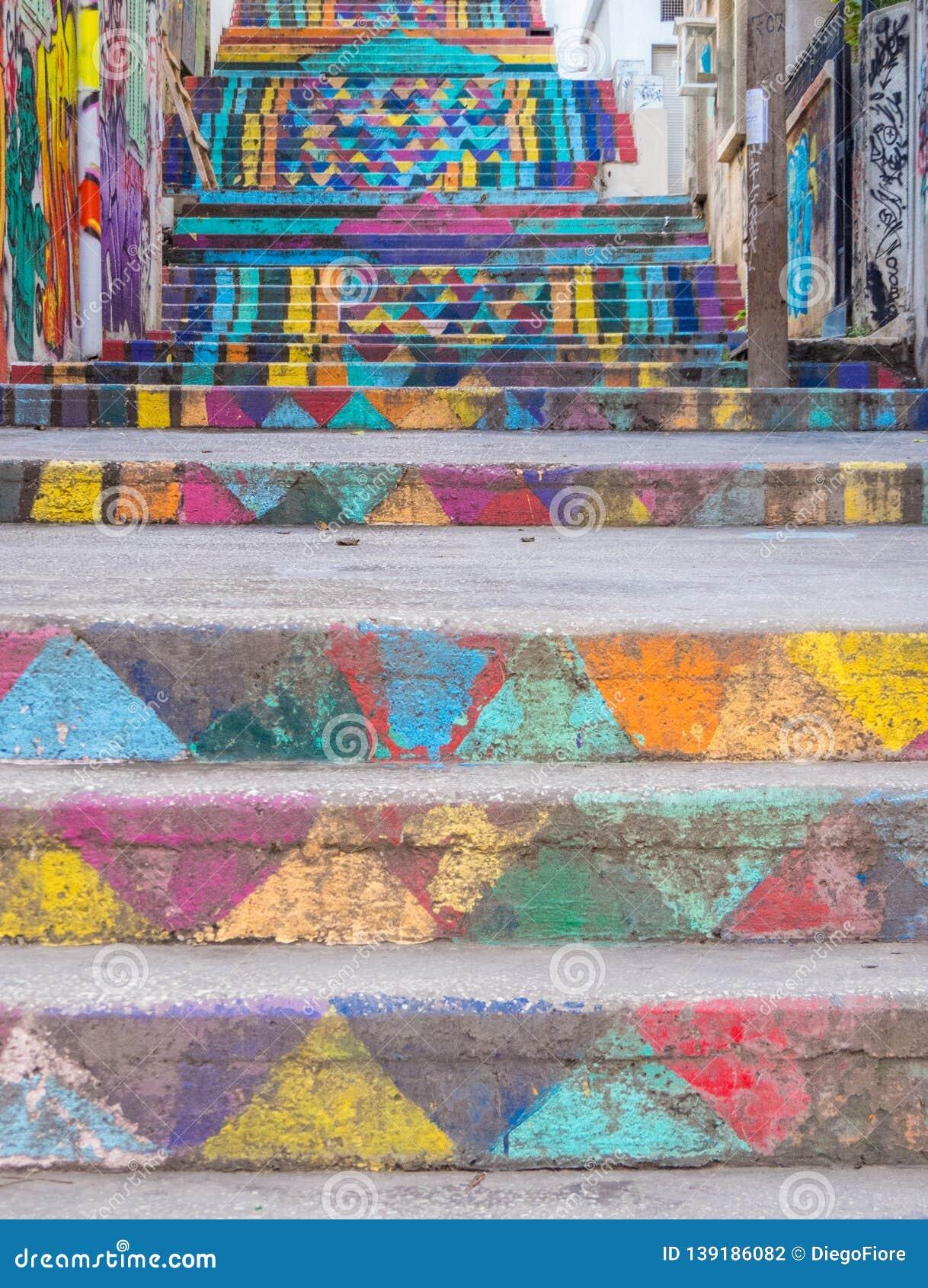 MÃ¥lad trappa, Achrafieh, Beirut, Libanon