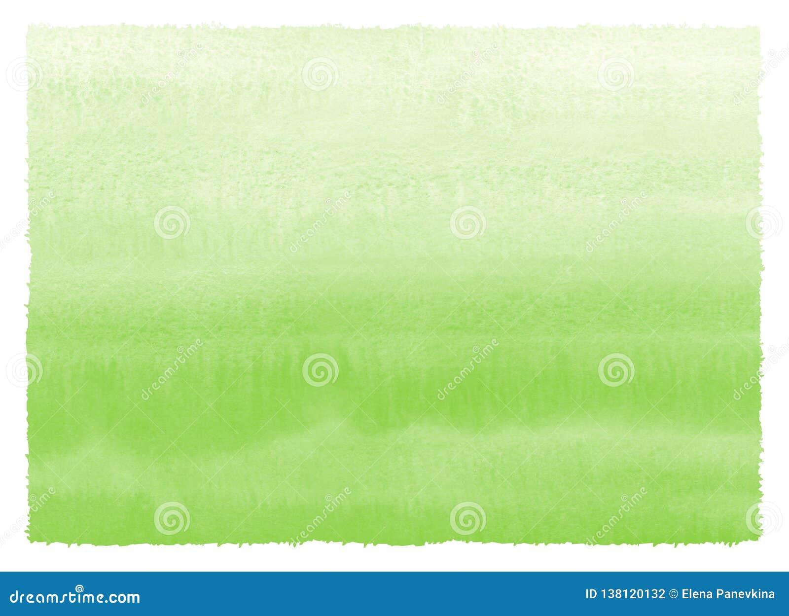 Målade den gröna lutningvattenfärgen för gräs textur