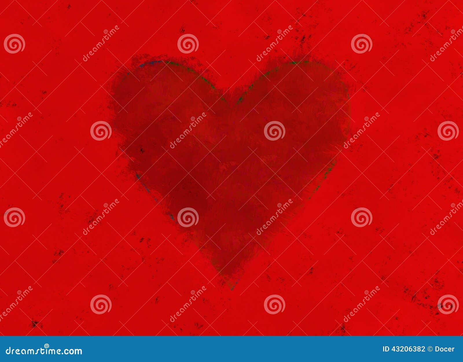Download Målat Pappers- Med Röd Hjärta Vektor För Valentin För Symbol För Daghjärtaillustration Röd S Stock Illustrationer - Illustration av hjärta, form: 43206382