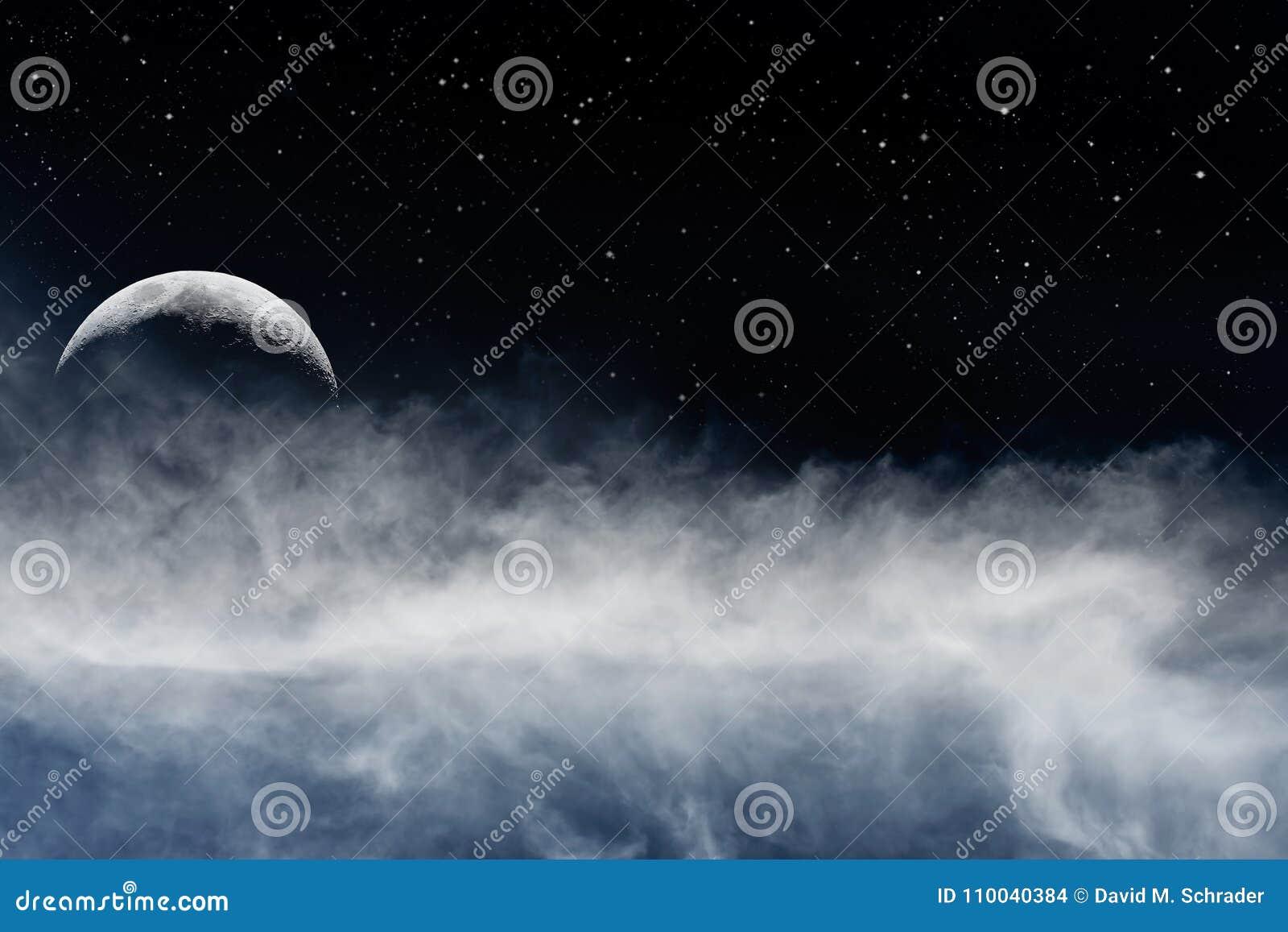 Måne och Fogbank