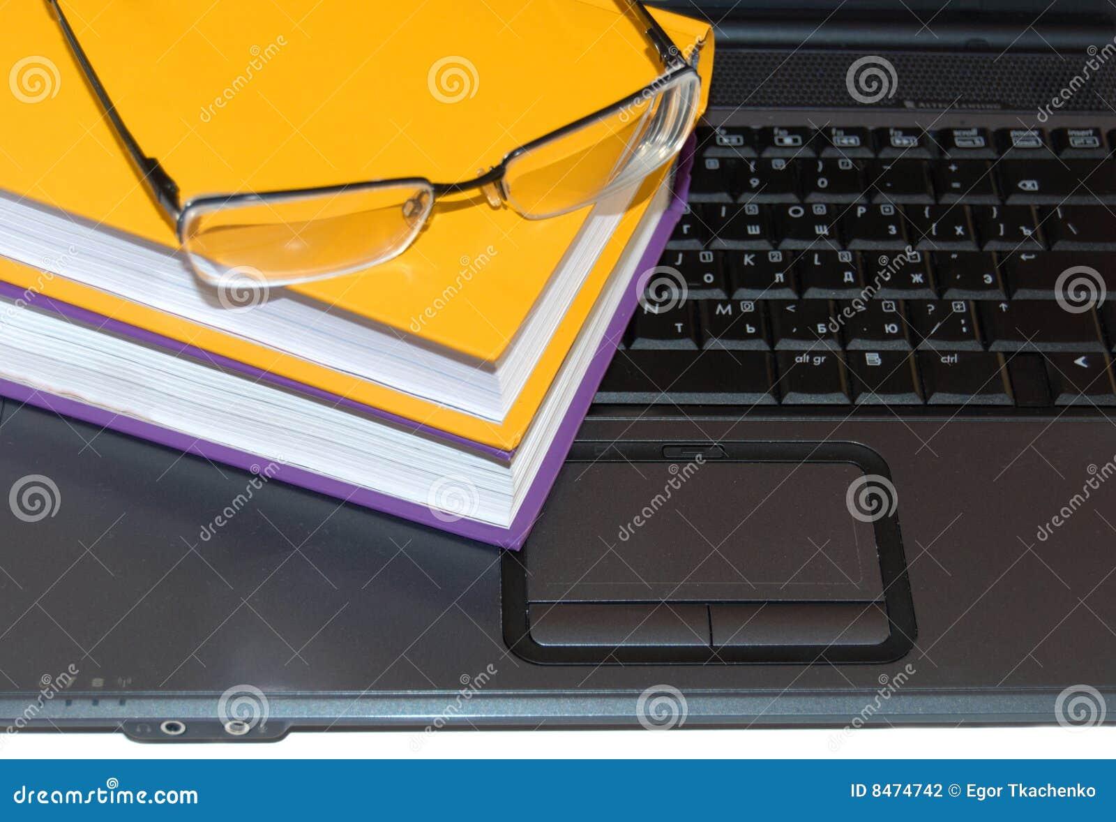 Mång- färgade exponeringsglas för böcker