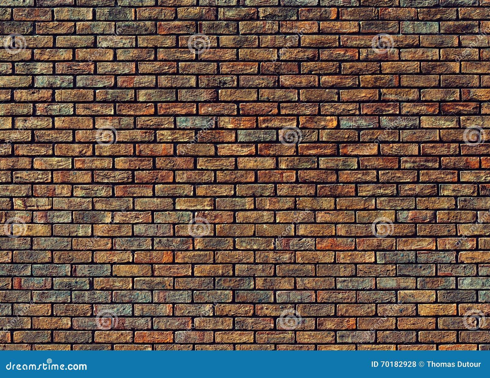 Många tegelstentegelstenar gammal texturvägg