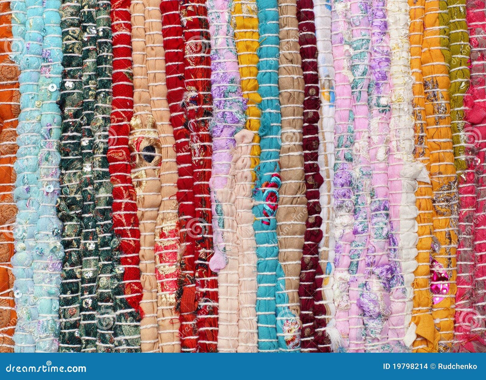 Mångfärgad patchwork