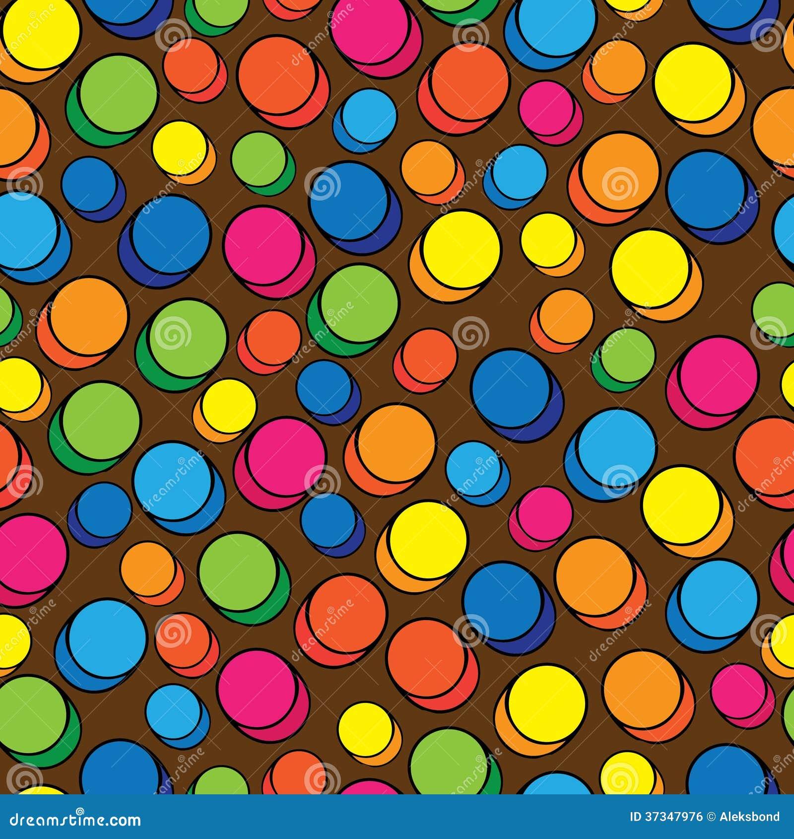 Mångfärgade preventivpillerar av den sömlösa modellen