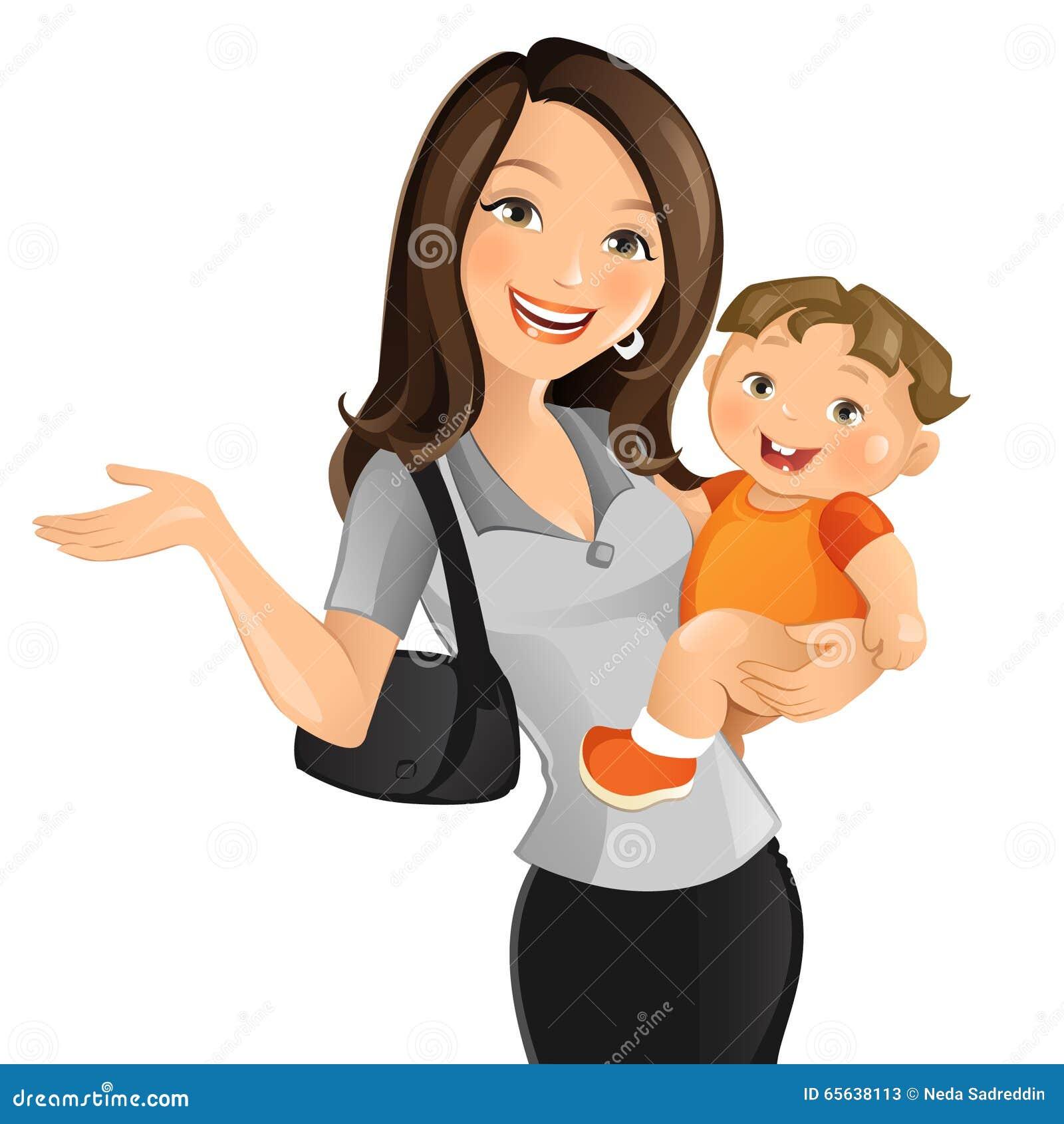 Mère active