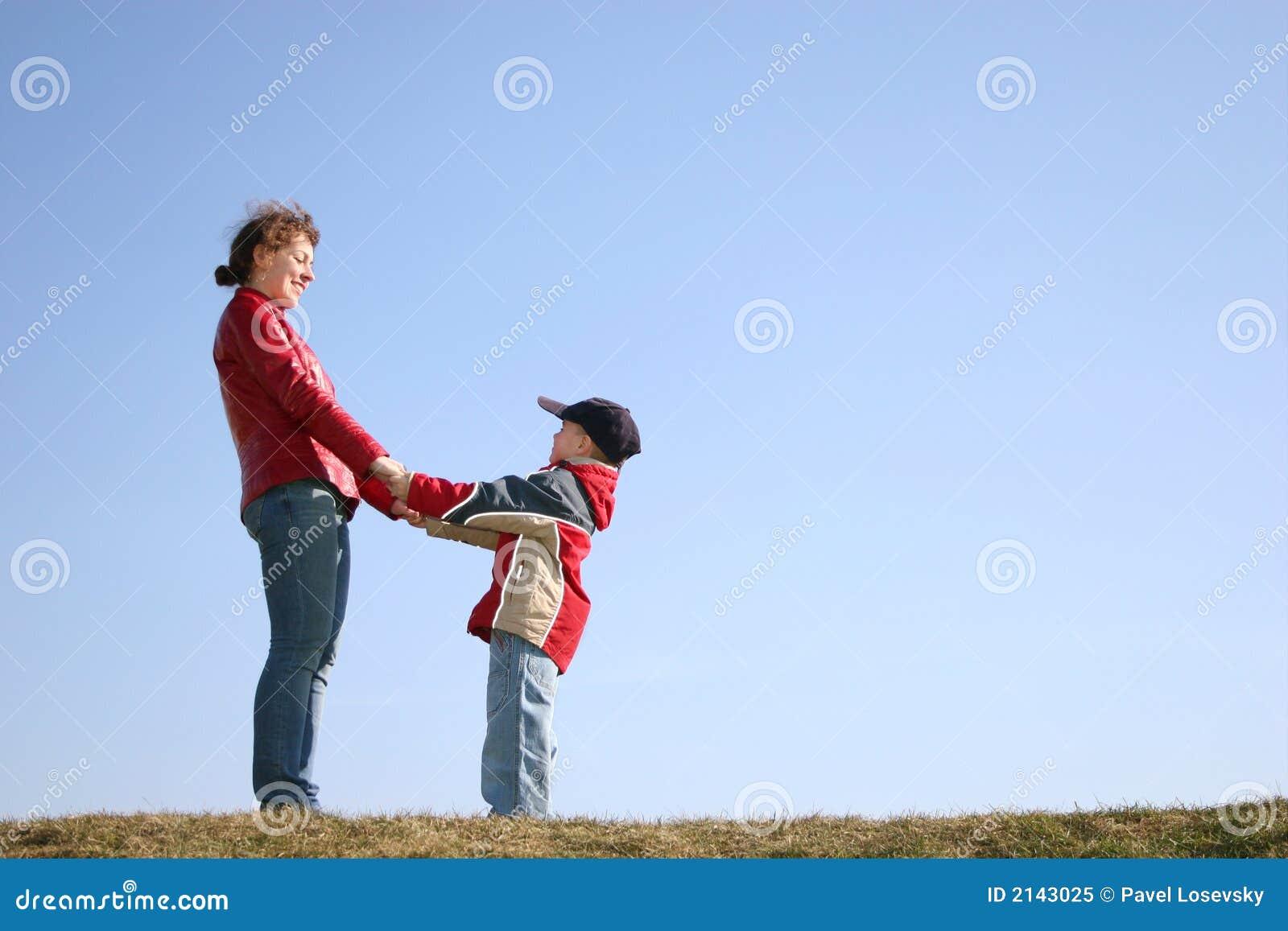 Mère avec l enfant
