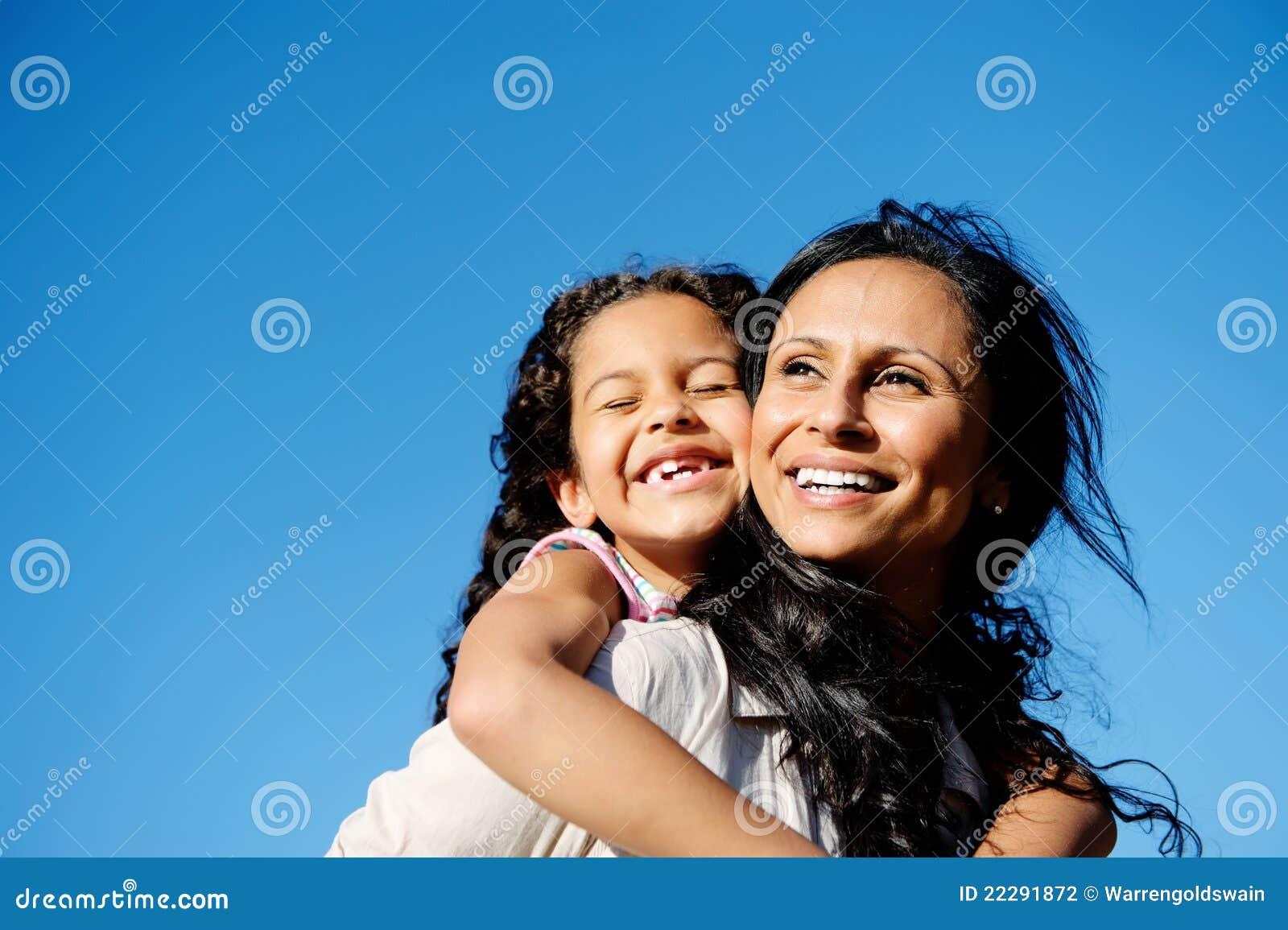 Mère et descendant d amusement