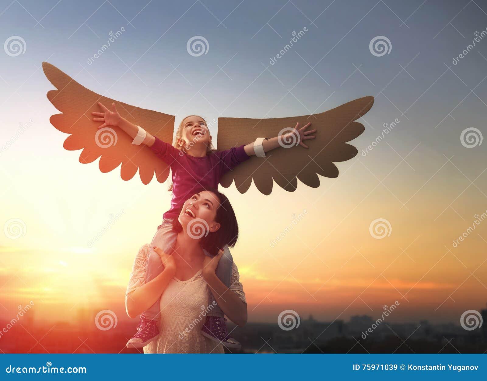 Mère et son jouer d enfant