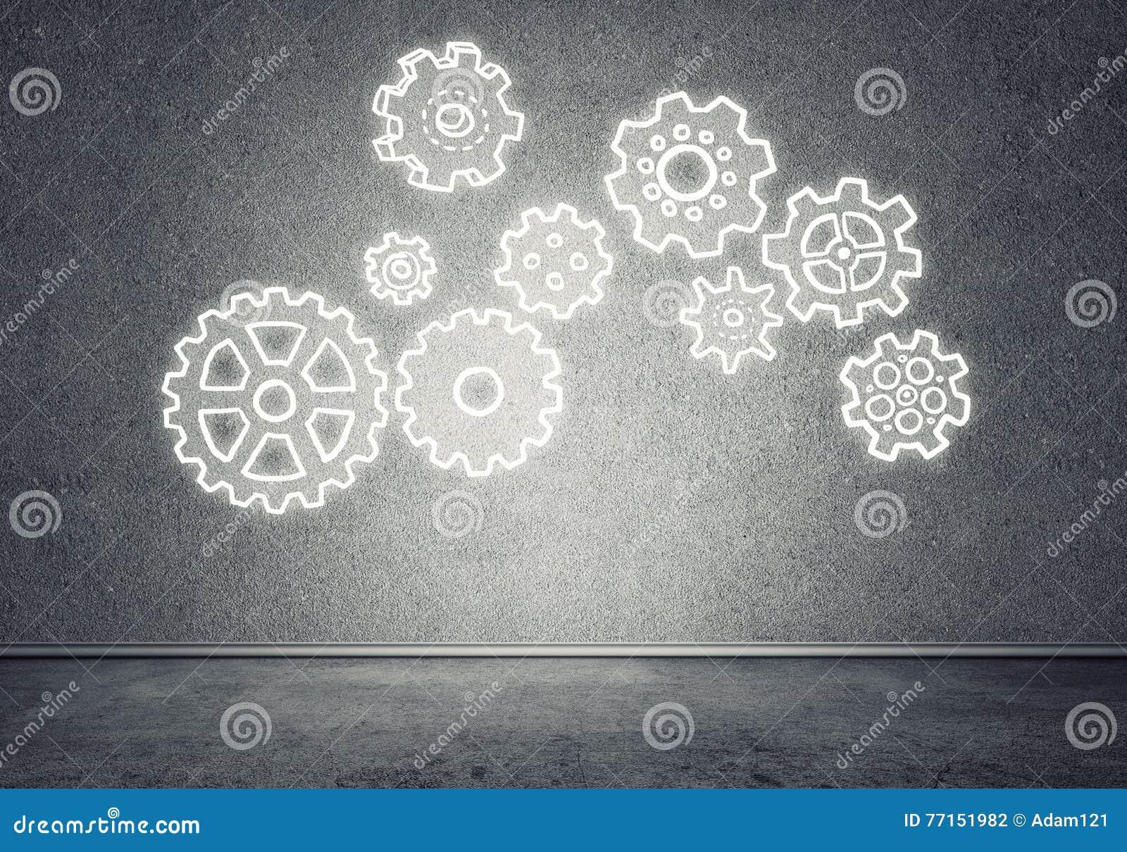 Mécanisme de vitesse comme concept de travail d équipe