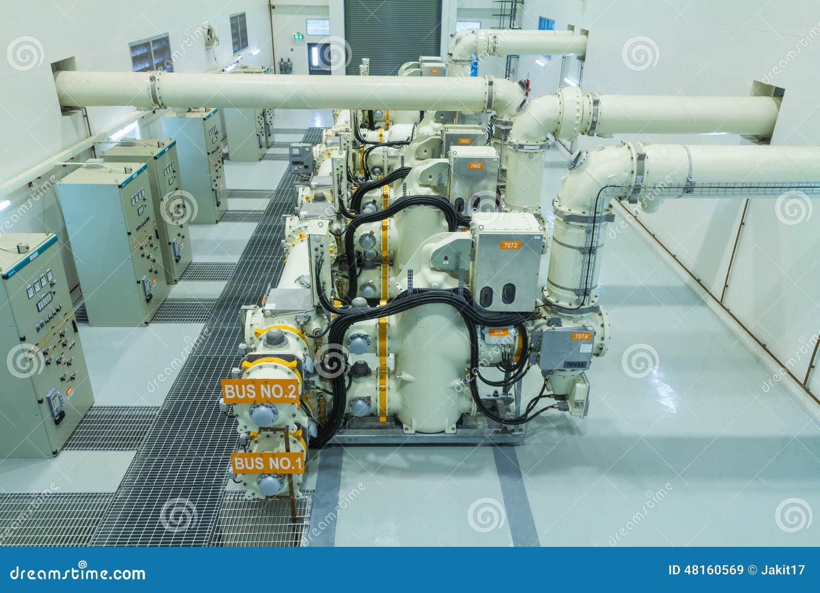 Mécanisme isolé par gaz
