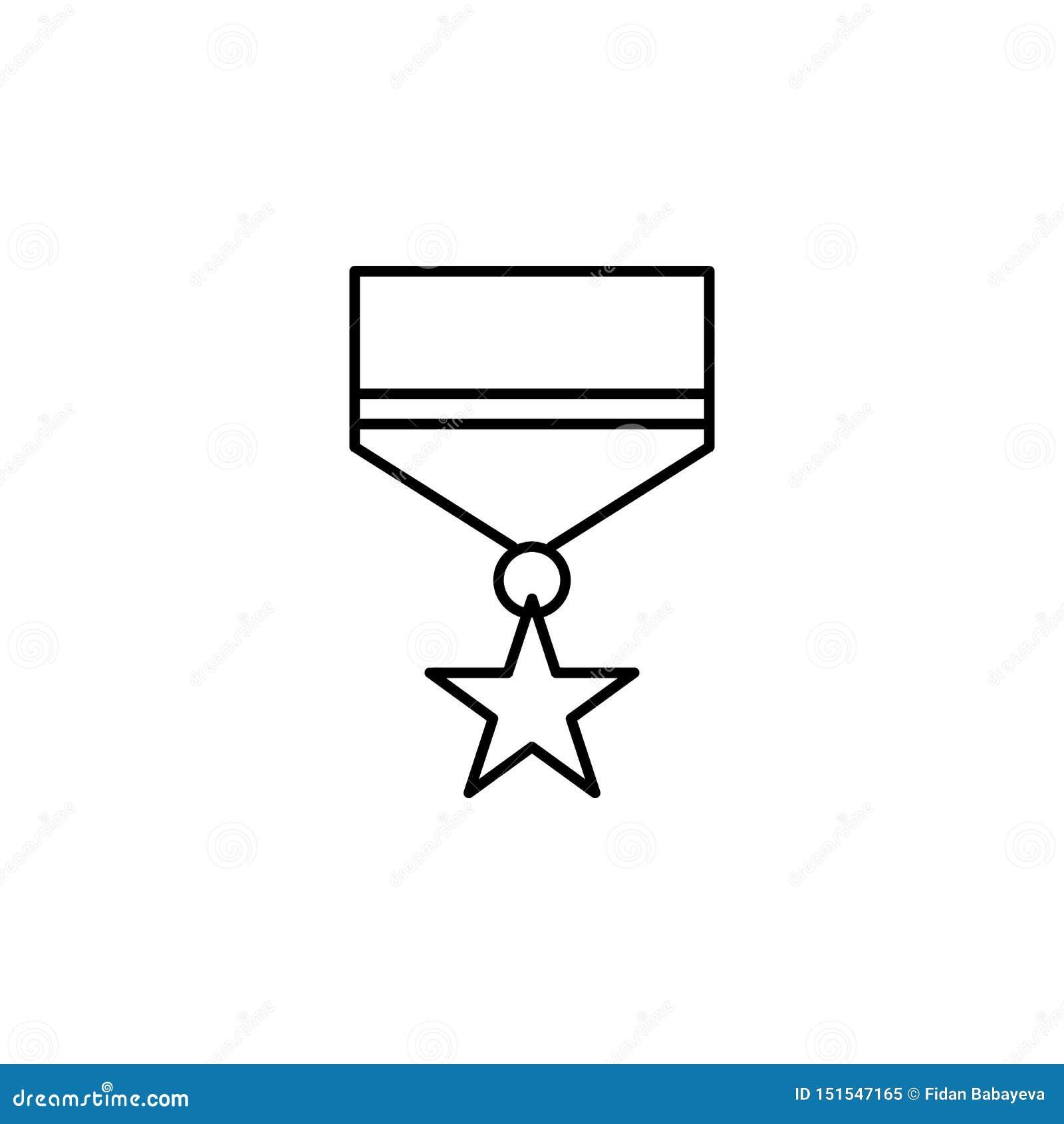 Médaille, icône d ensemble de la mort ensemble détaillé d icônes d illustrations de la mort Peut ?tre employ? pour le Web, logo,