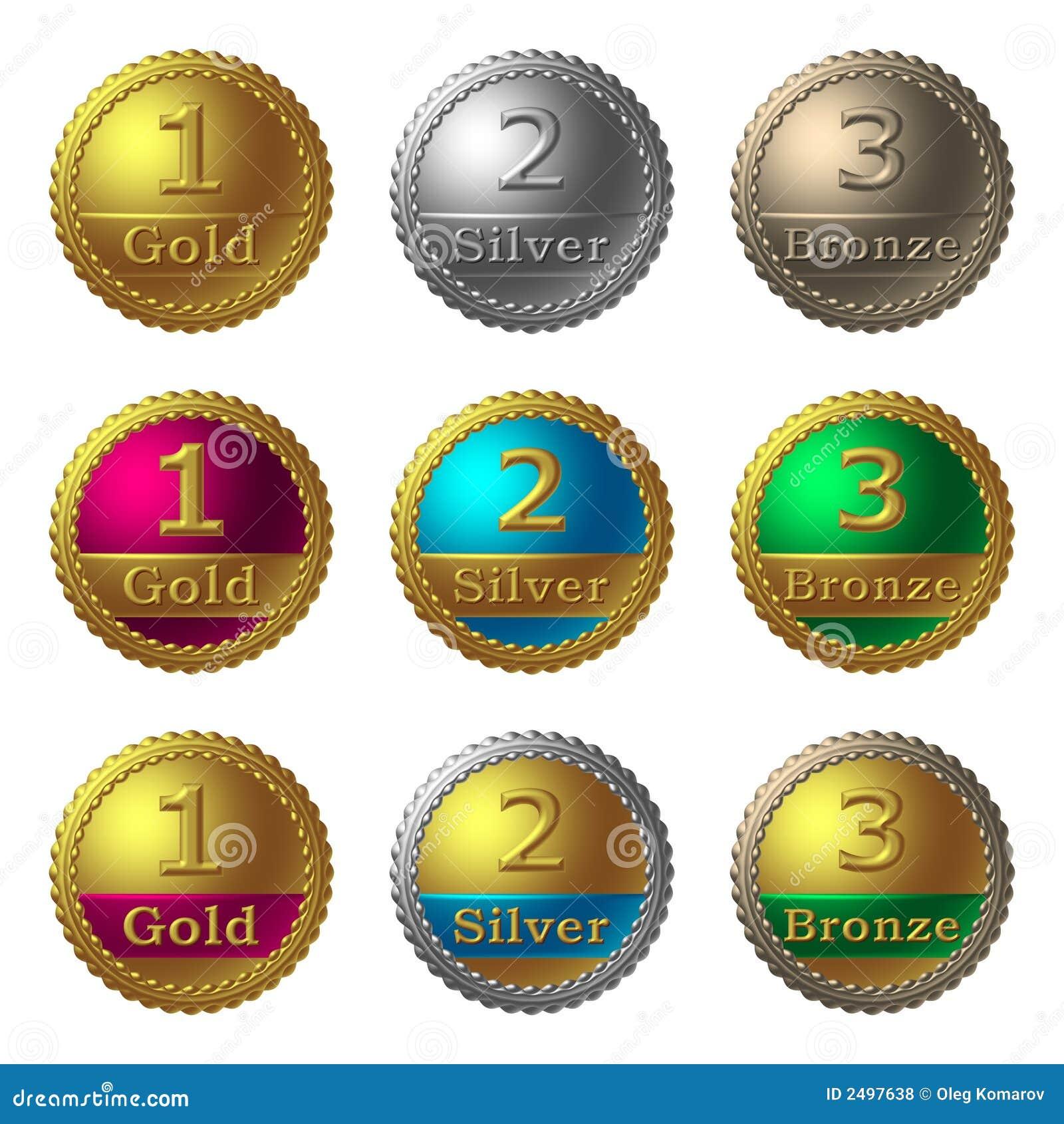 Médailles de récompense