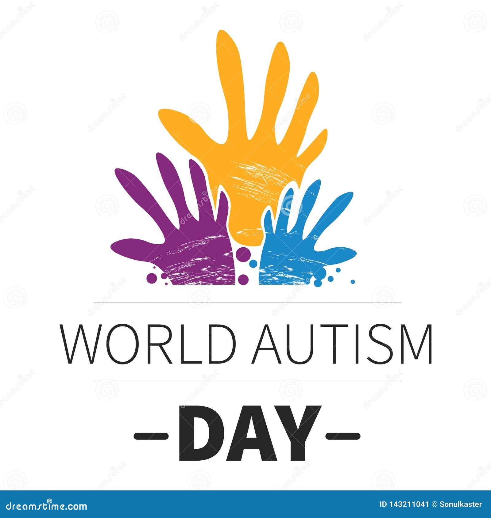 Médecine de jour d autisme du monde et emblème d isolement de santé mentale