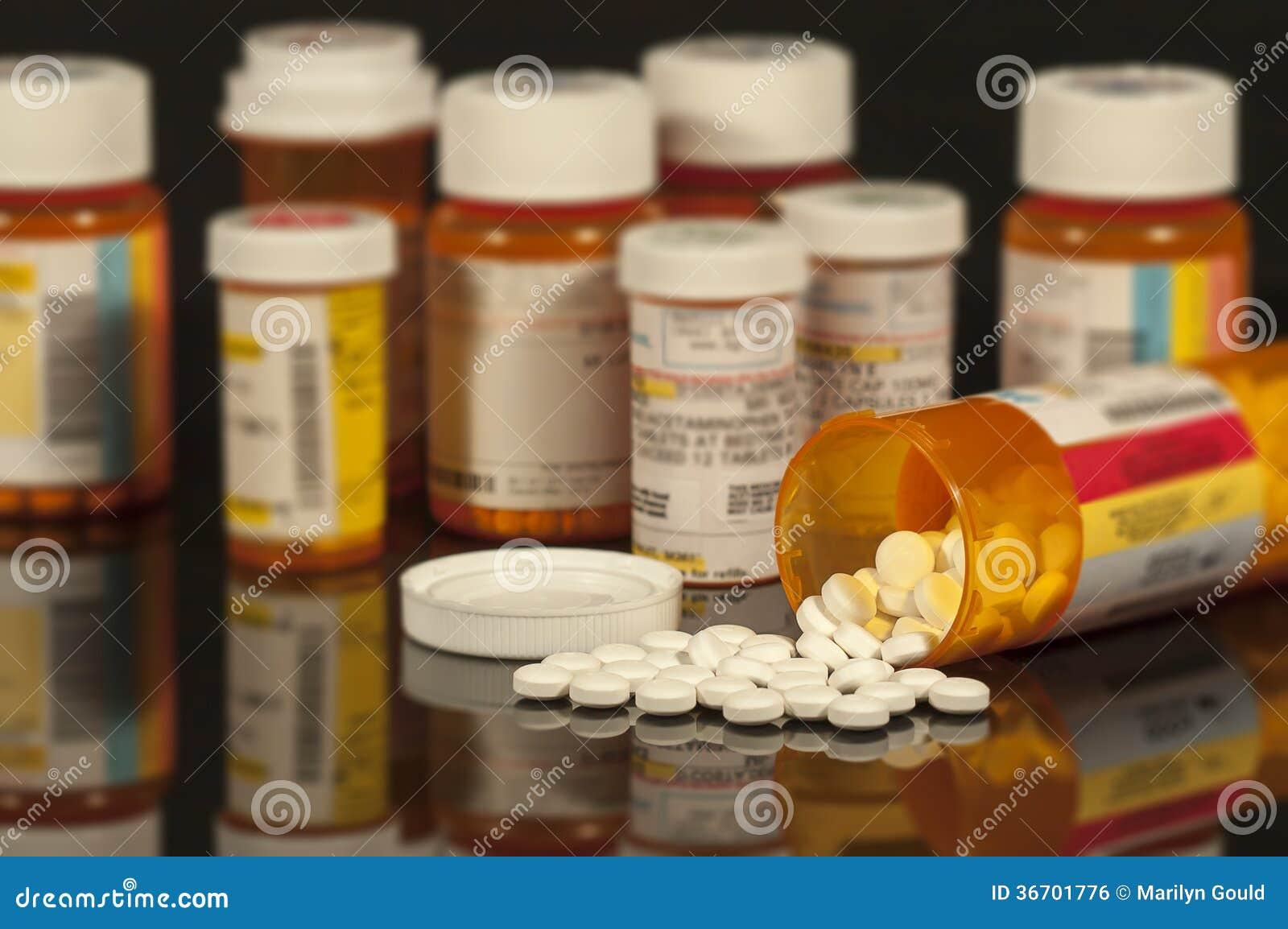 Médicaments délivrés sur ordonnance