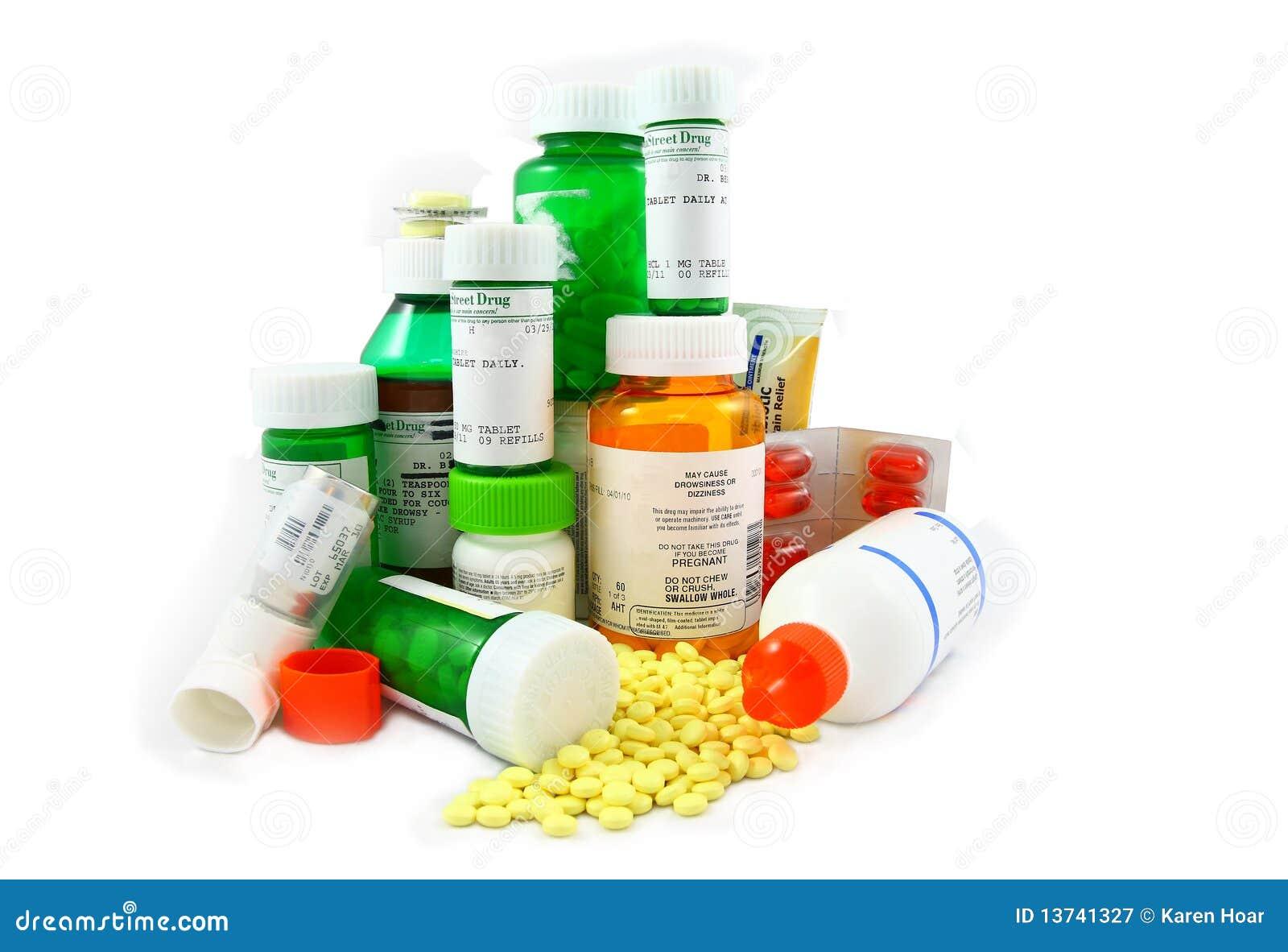 Médicaments de prescription et de Non-Prescription