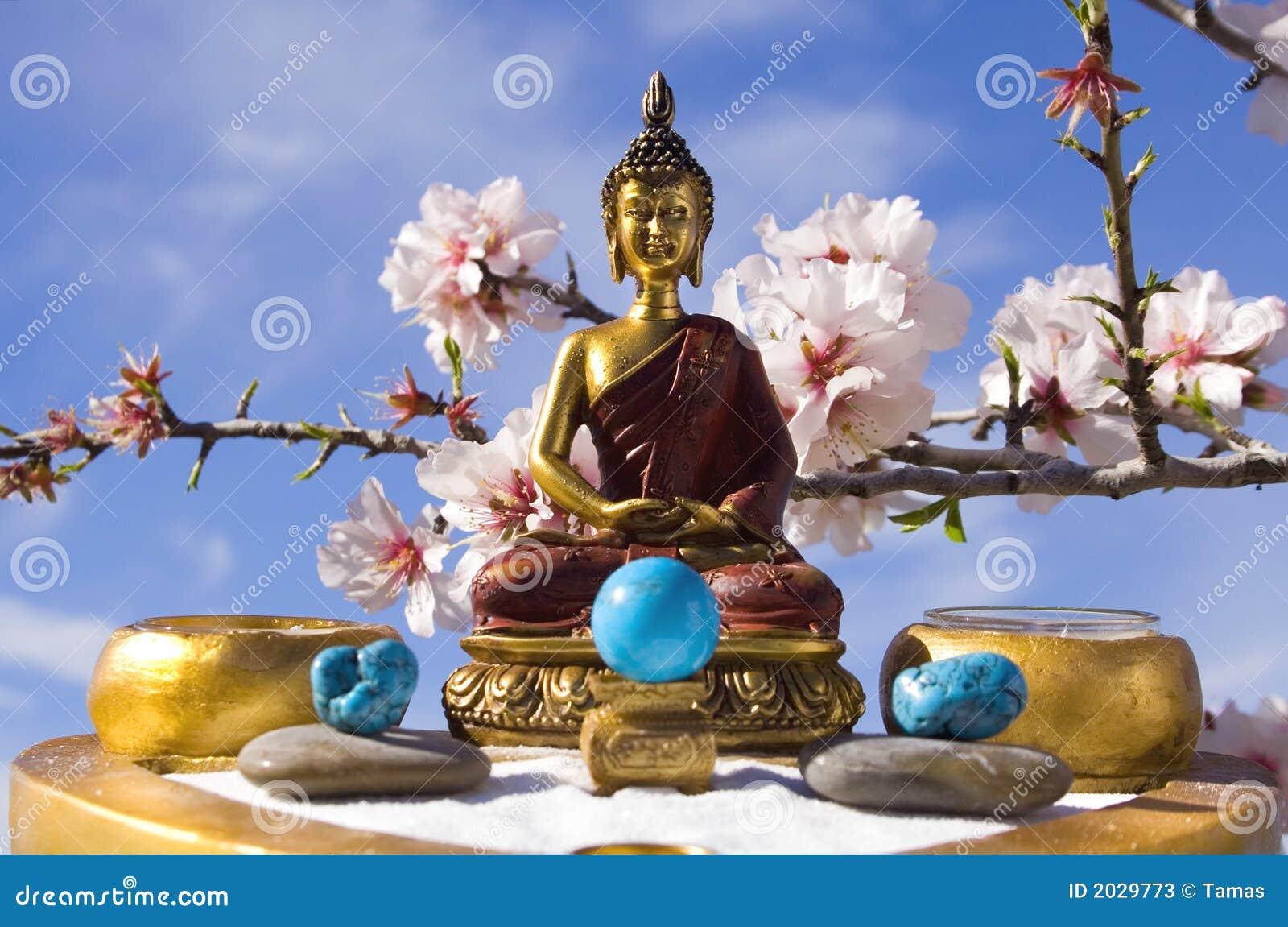M ditation de jardin de zen de bouddha photos stock for Bouddha dans un jardin