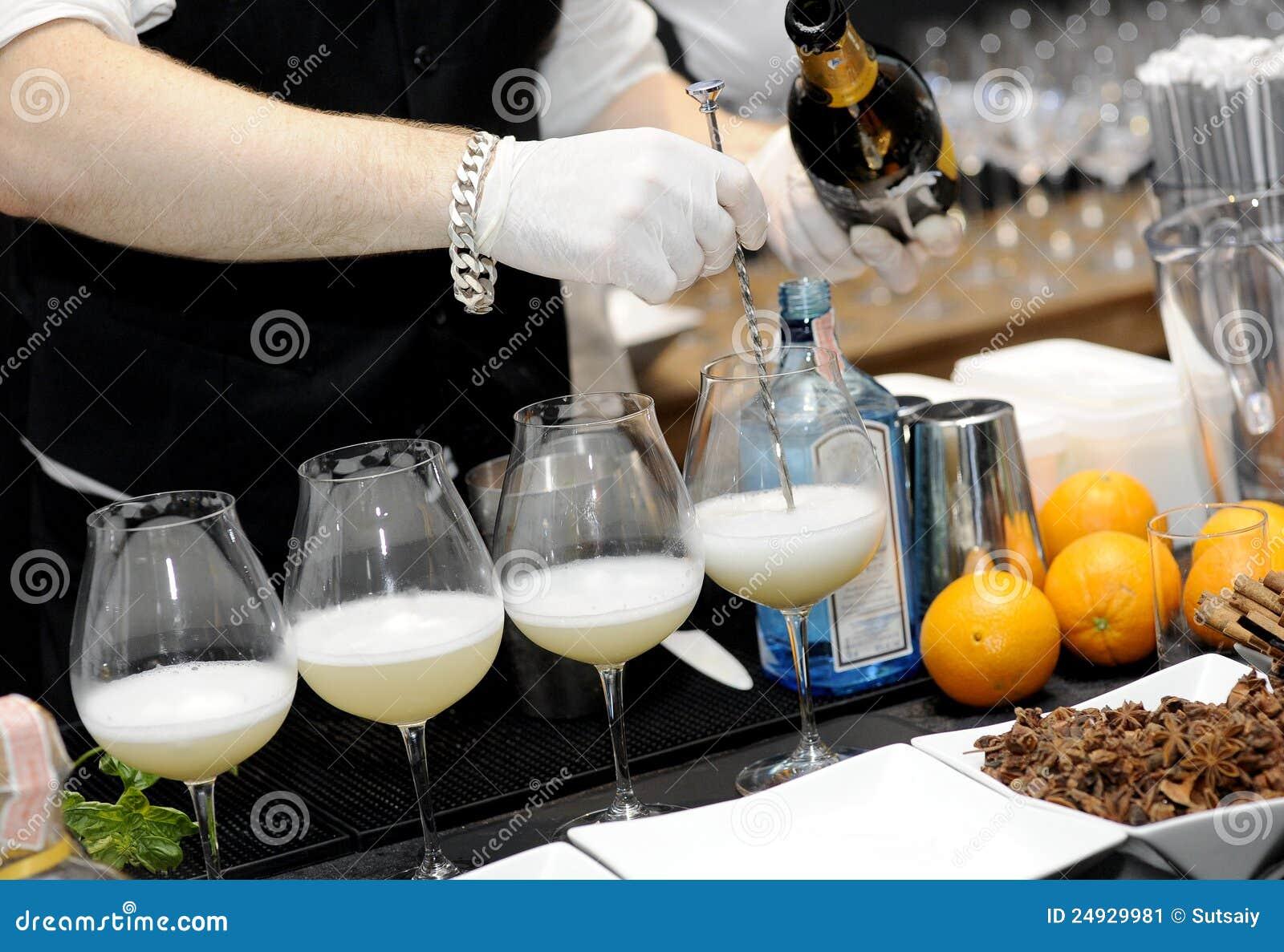 Mélange de barman