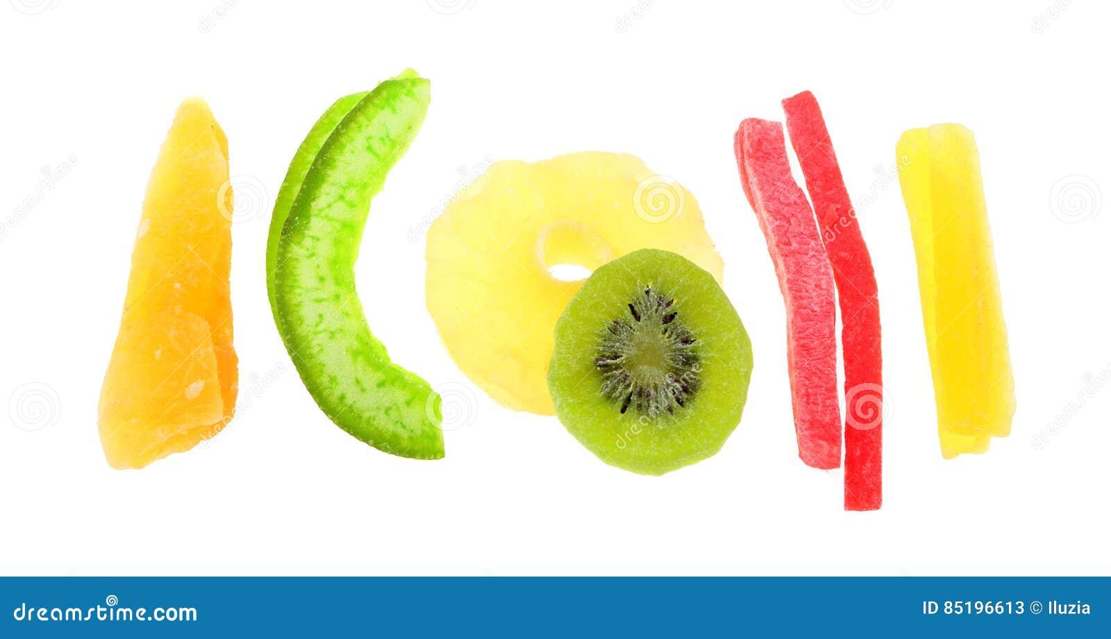 Mélange de fruit tropical sec