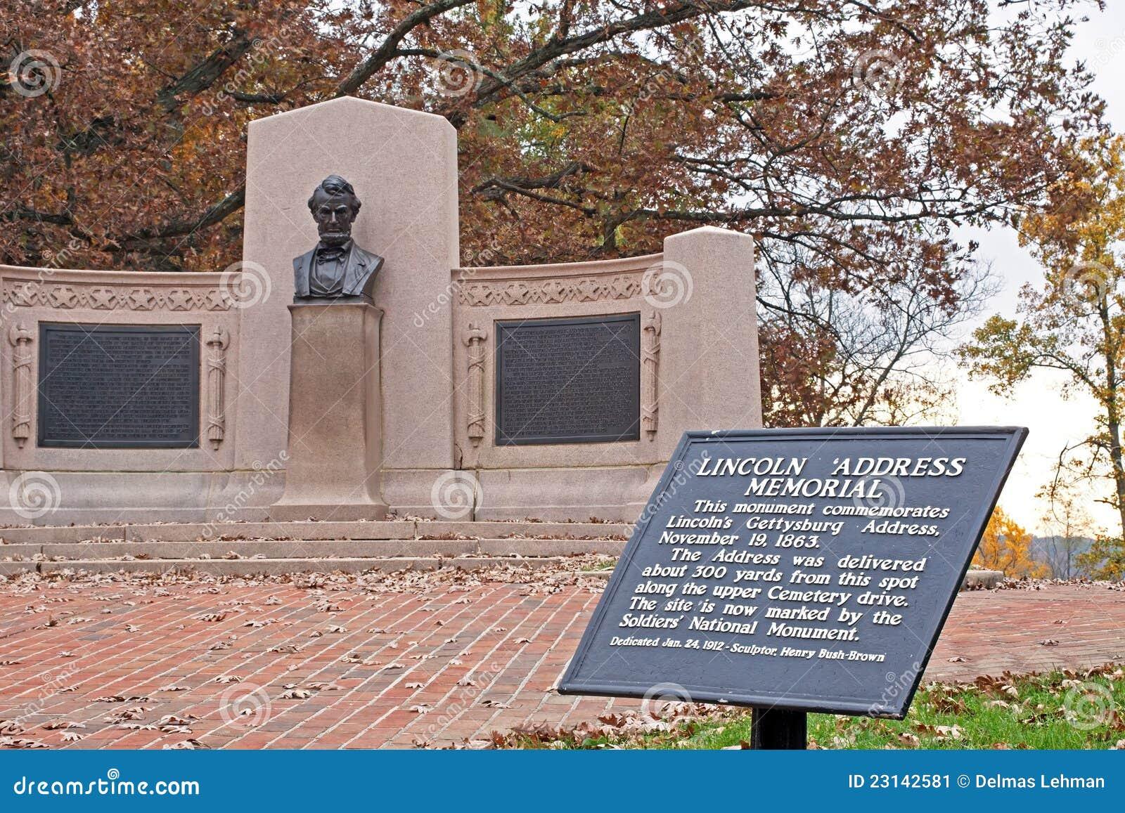 Mémorial d adresse de Lincoln