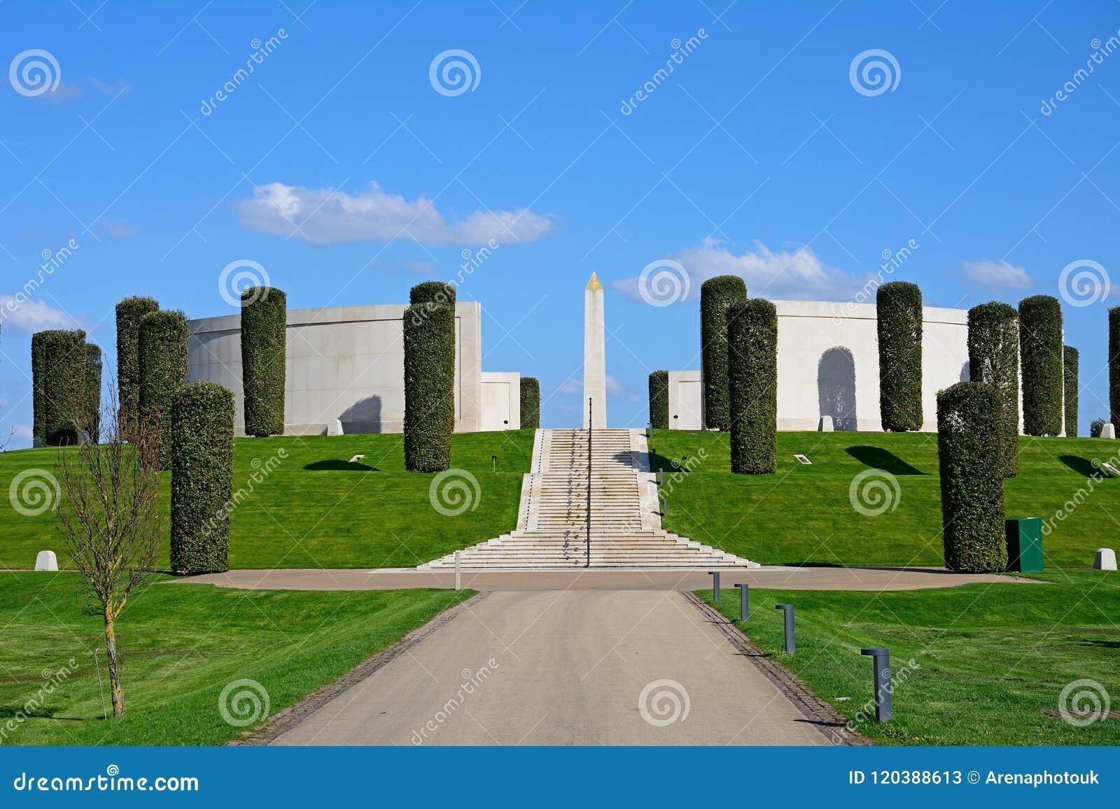 Mémorial de forces armées, arborétum commémoratif national