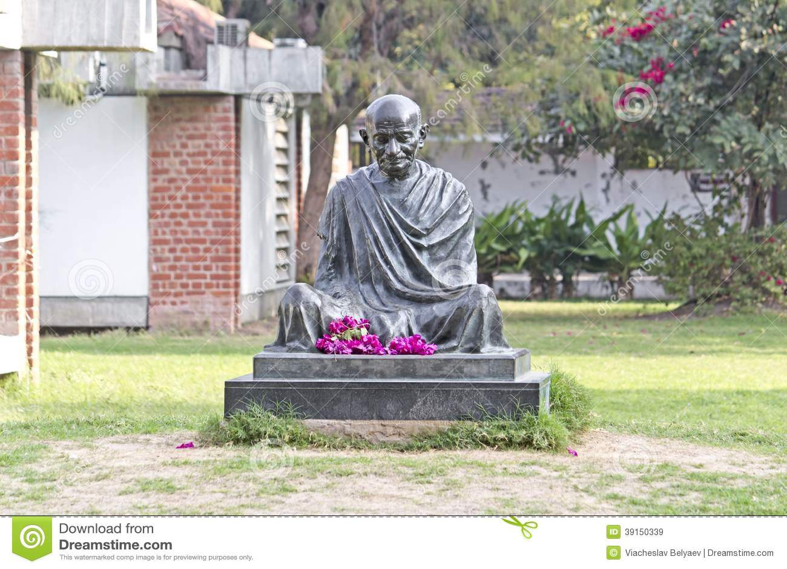 Mémorial de Gandhis de mahatma à Ahmedabad
