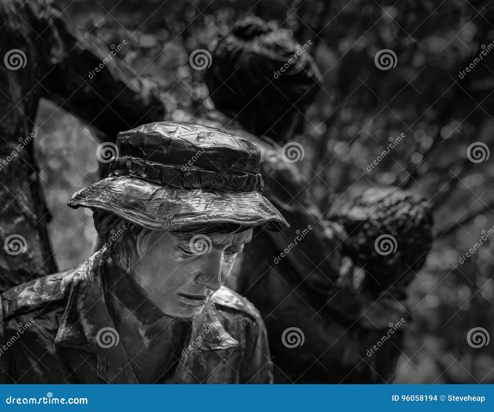Mémorial du ` s Vietnam de femmes à Washington