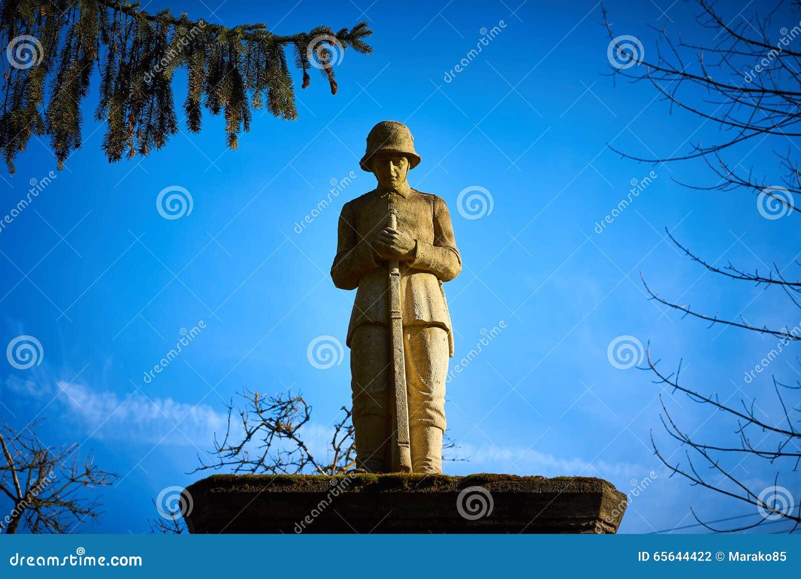 Mémorial pour les soldats tombés dans la première guerre mondiale