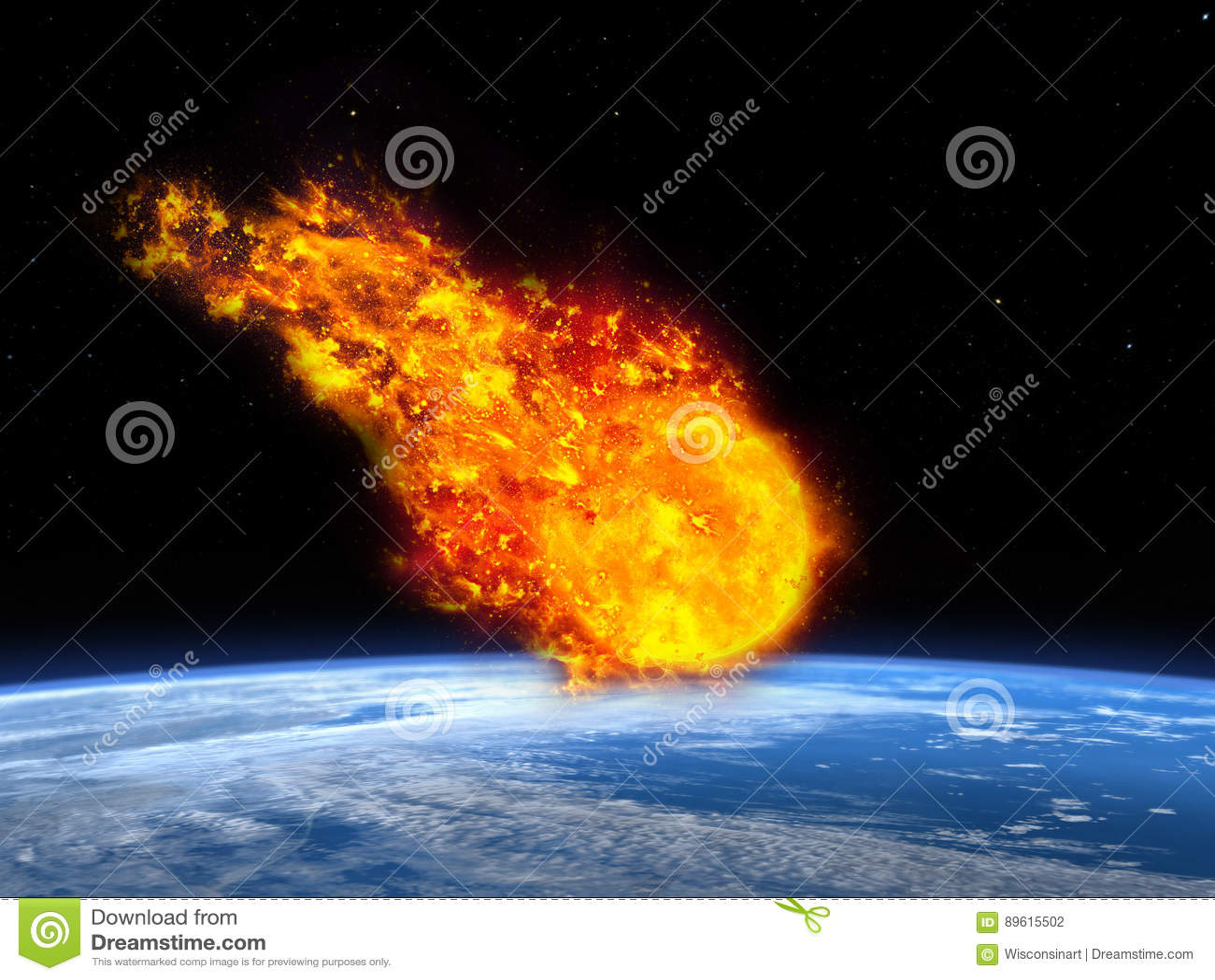 Météore, asteroïde, aérolithe, apocalypse, la terre