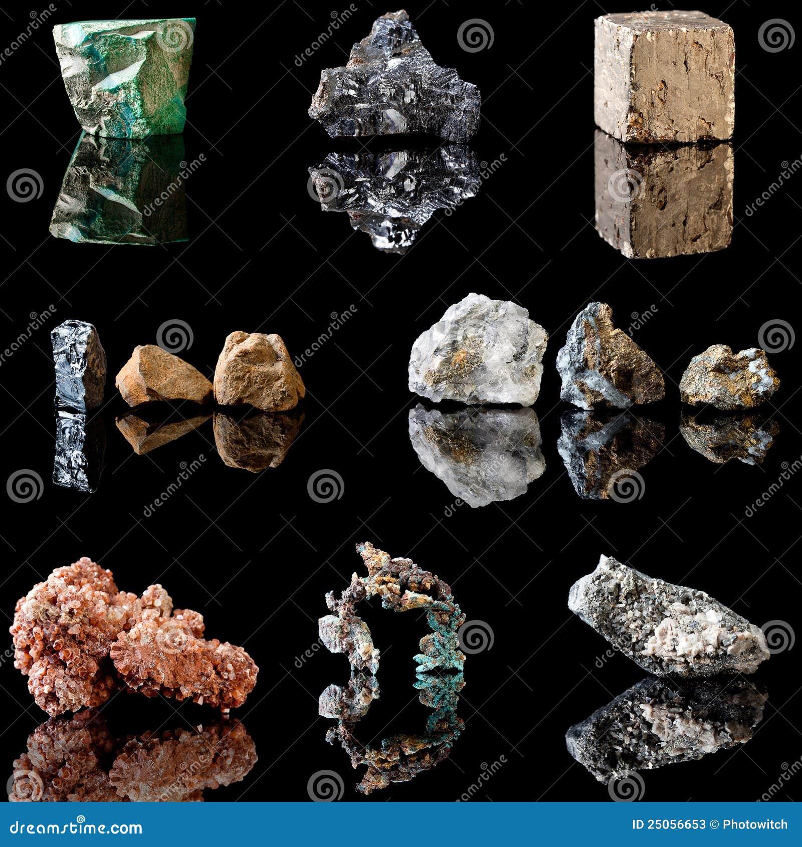 Métal contenant des minerais