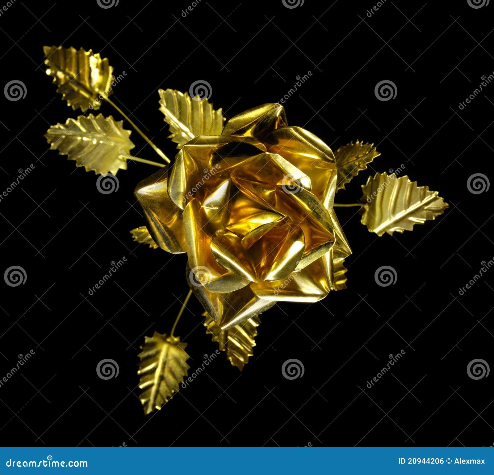 Métal jaune Rose