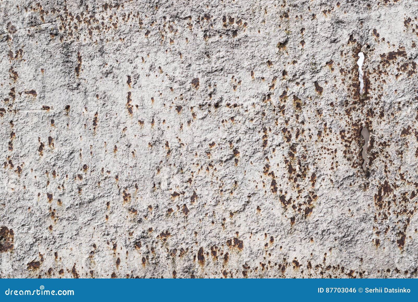 Métal rouillé superficiel par les agents avec la peinture fanée et la texture usée