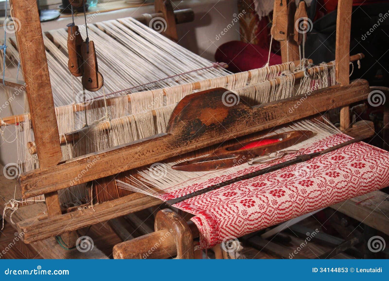 Métier à tisser de tissage traditionnel