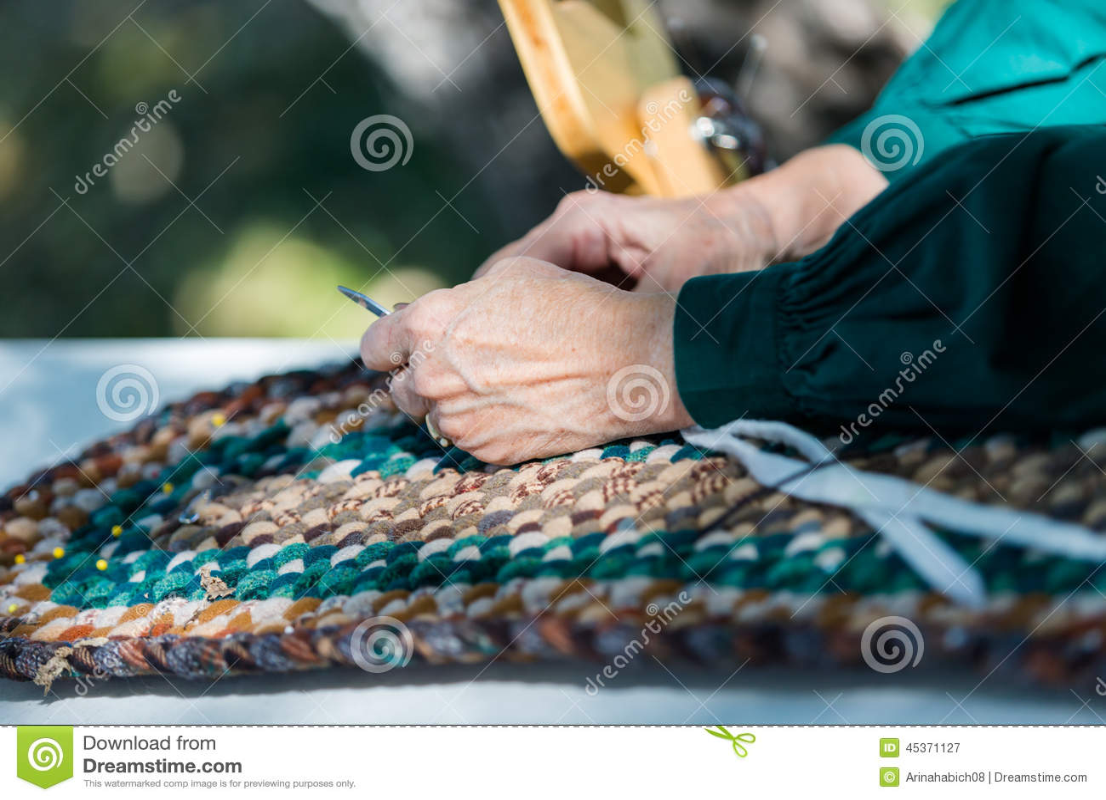 Métier fabriqué à la main