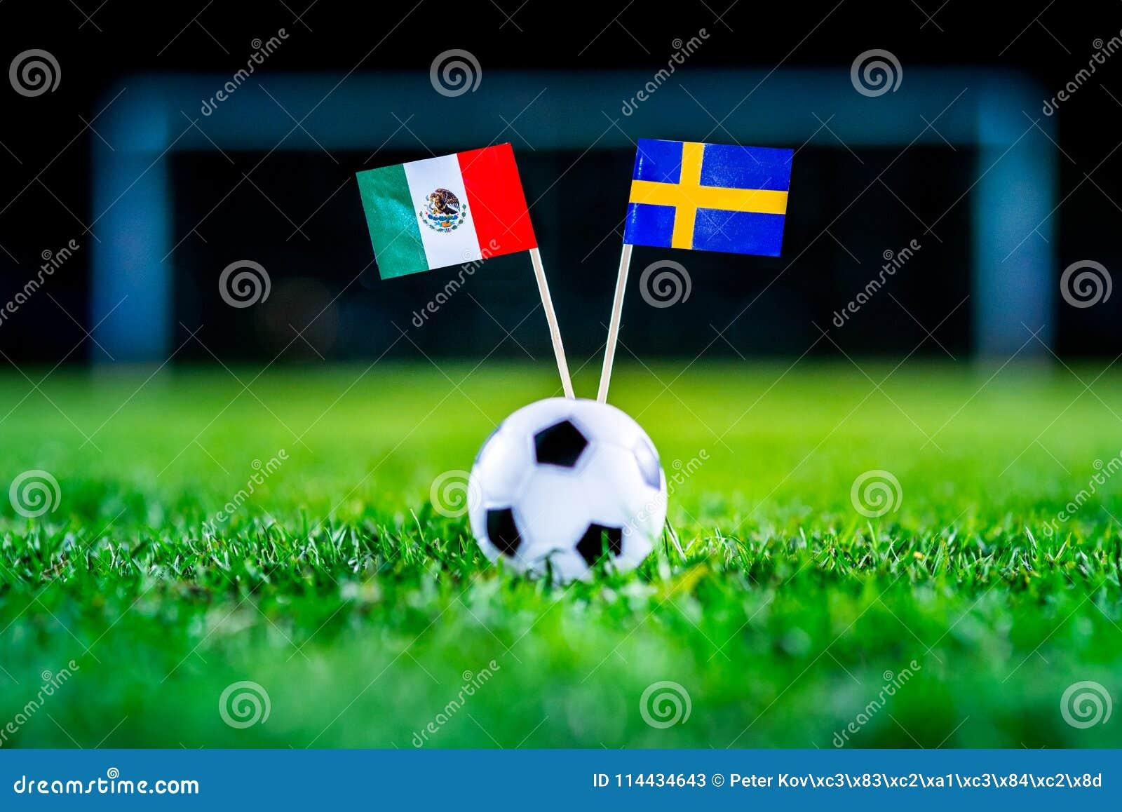 México - Suecia, grupo F, miércoles, 27 Junio, fútbol, mundo C