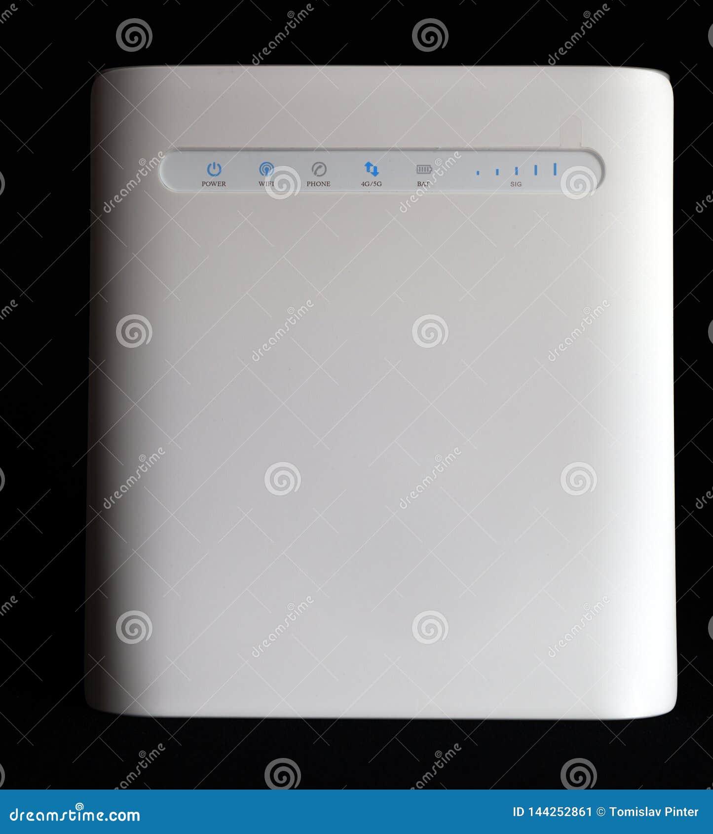 Módem 5G y router