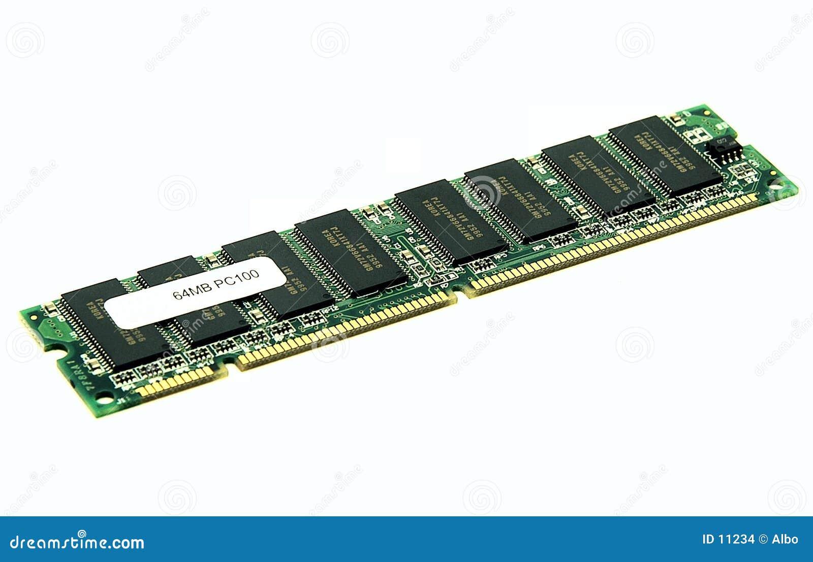 Módulo da memória de RAM