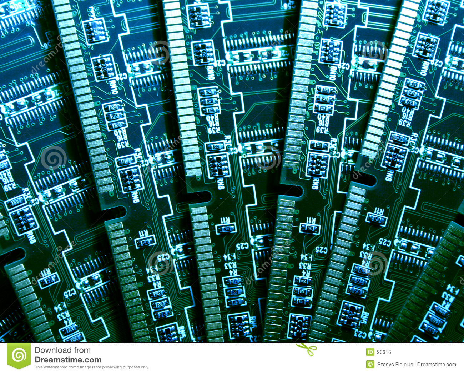 Módulos da memória de computador VI