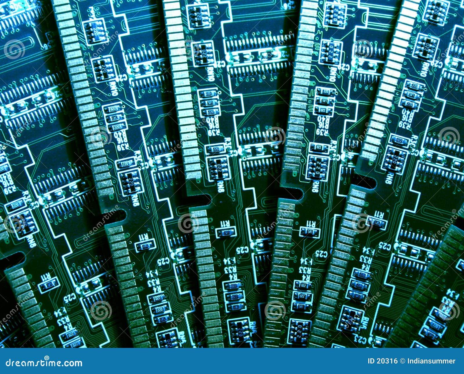 Módulos de la memoria de computadora VI