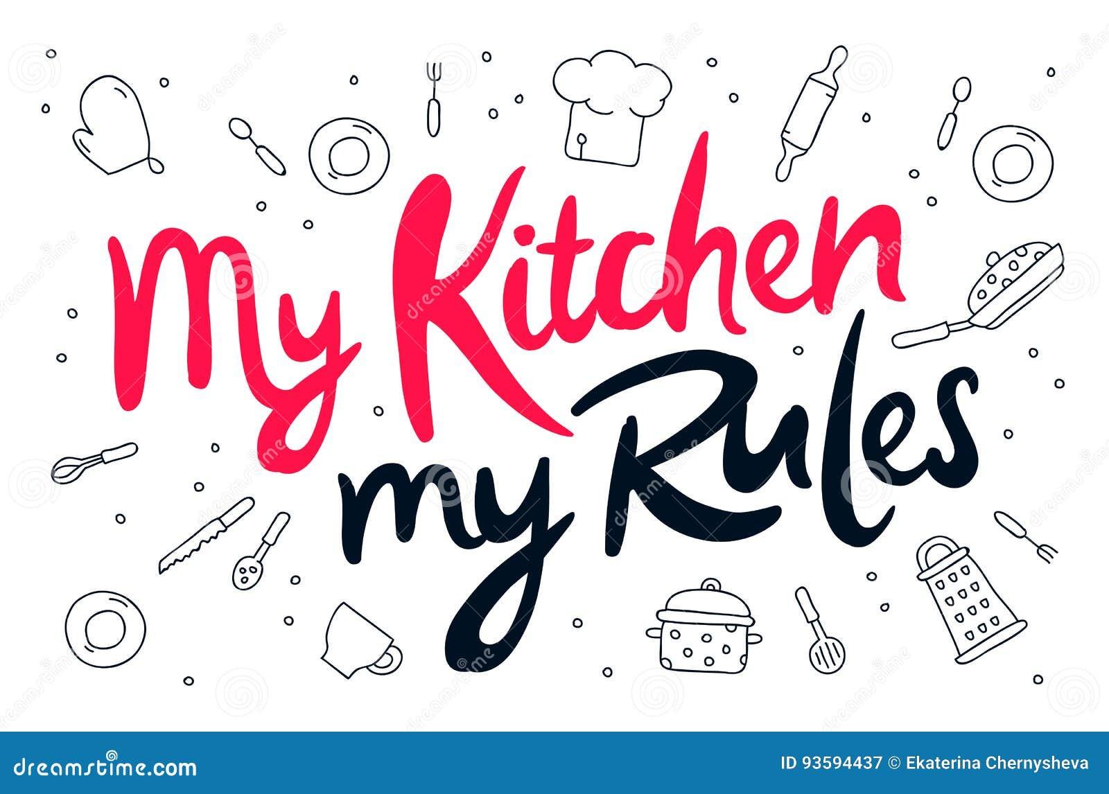 Mój kuchnia, mój reguły