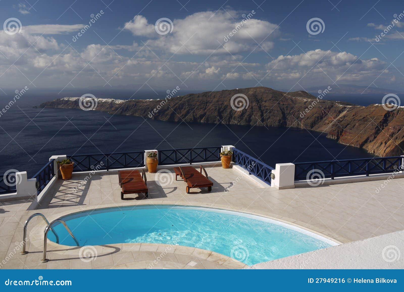 Mój sen - Santorini