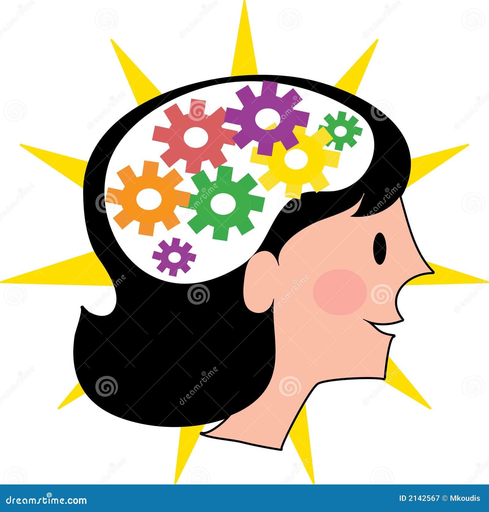 Mózg jest kobieta