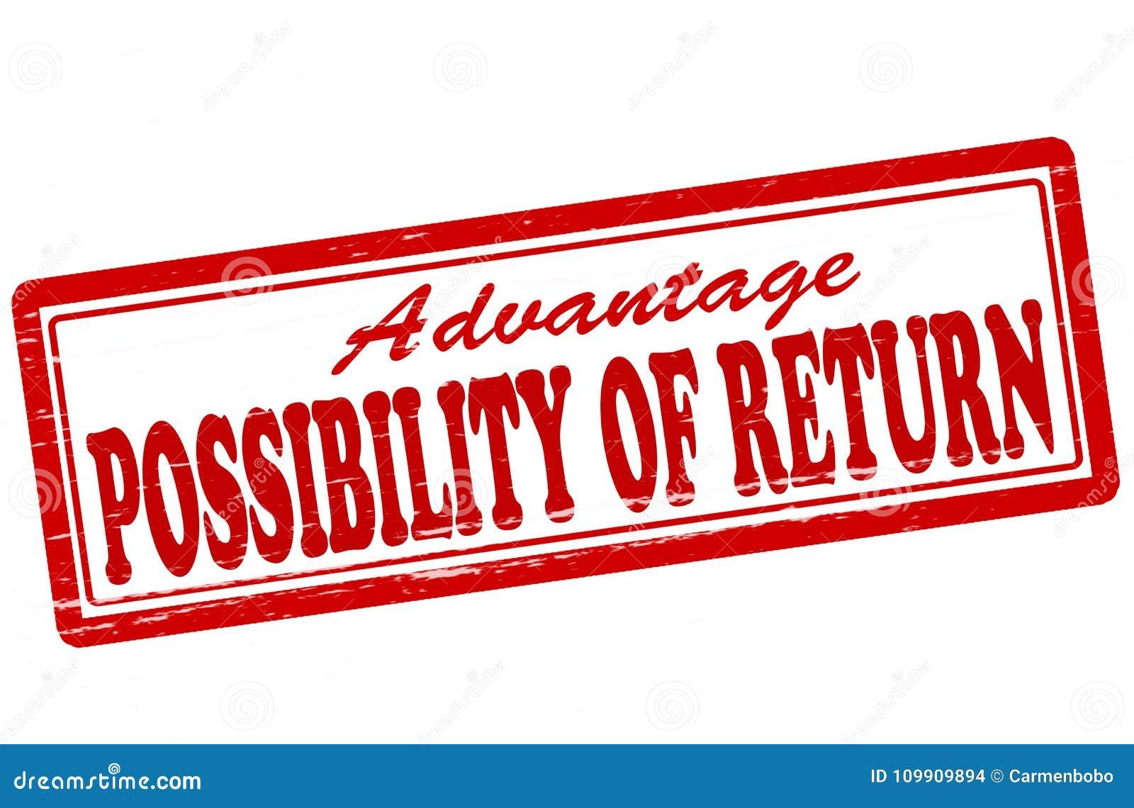 Möglichkeit der Rückkehr